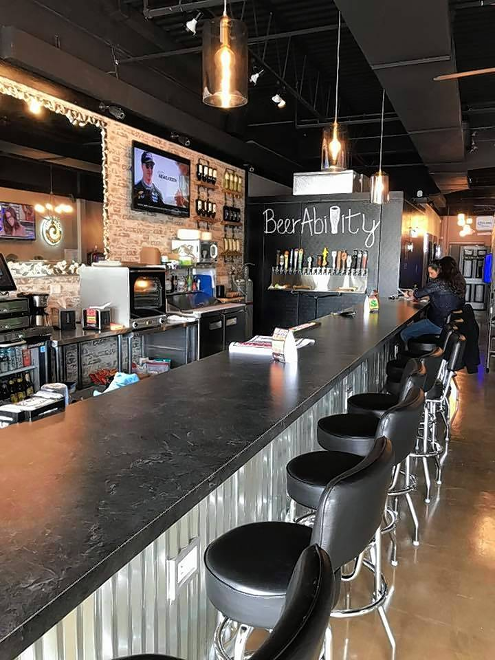 BeerAbility just opened in Lake Zurich and another is planned for McHenry. It offers about 20 beers on tap, various drink and food items, as well as video gambling and slots.
