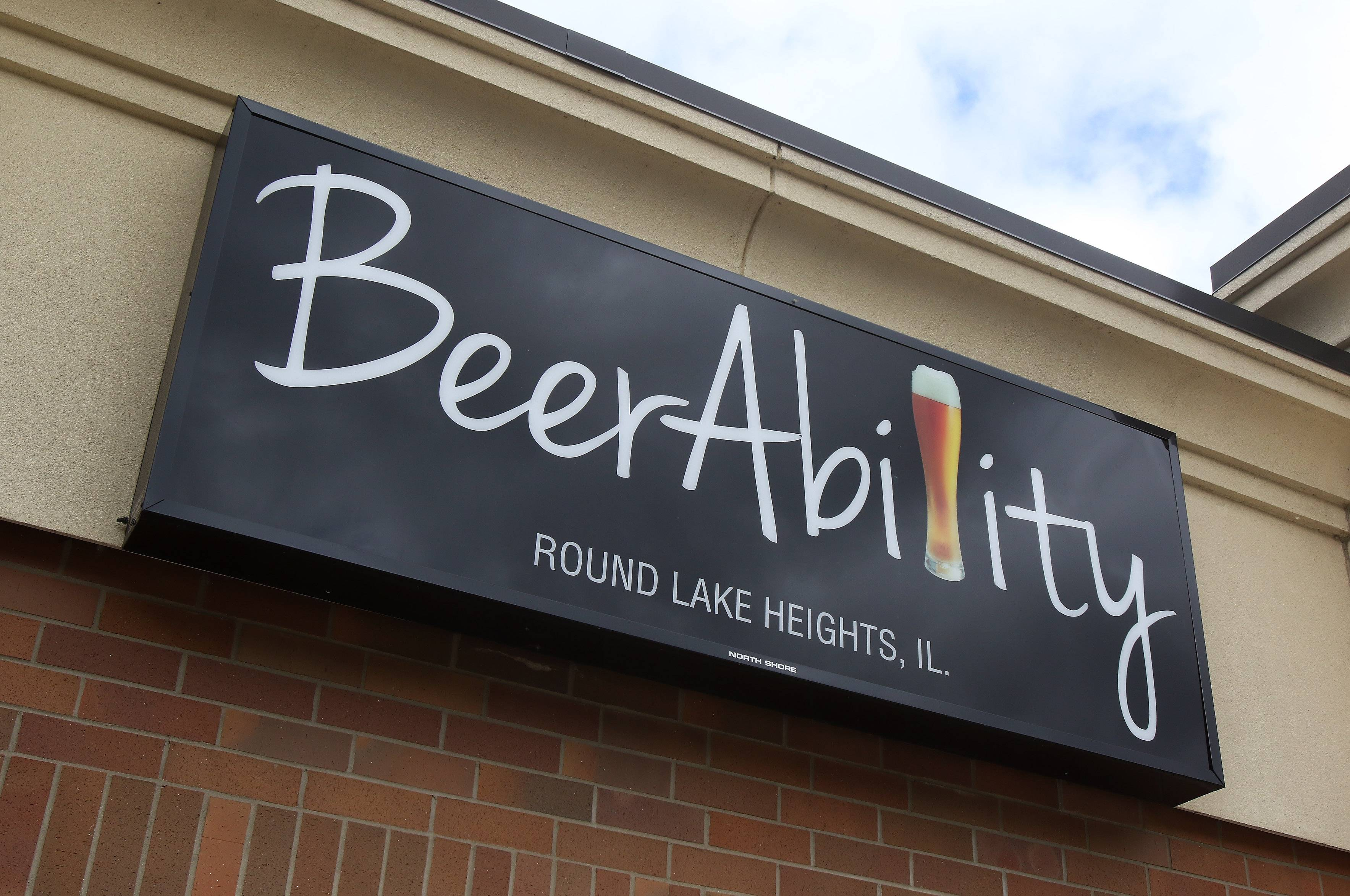 BeerAbility pub in Round Lake Heights.
