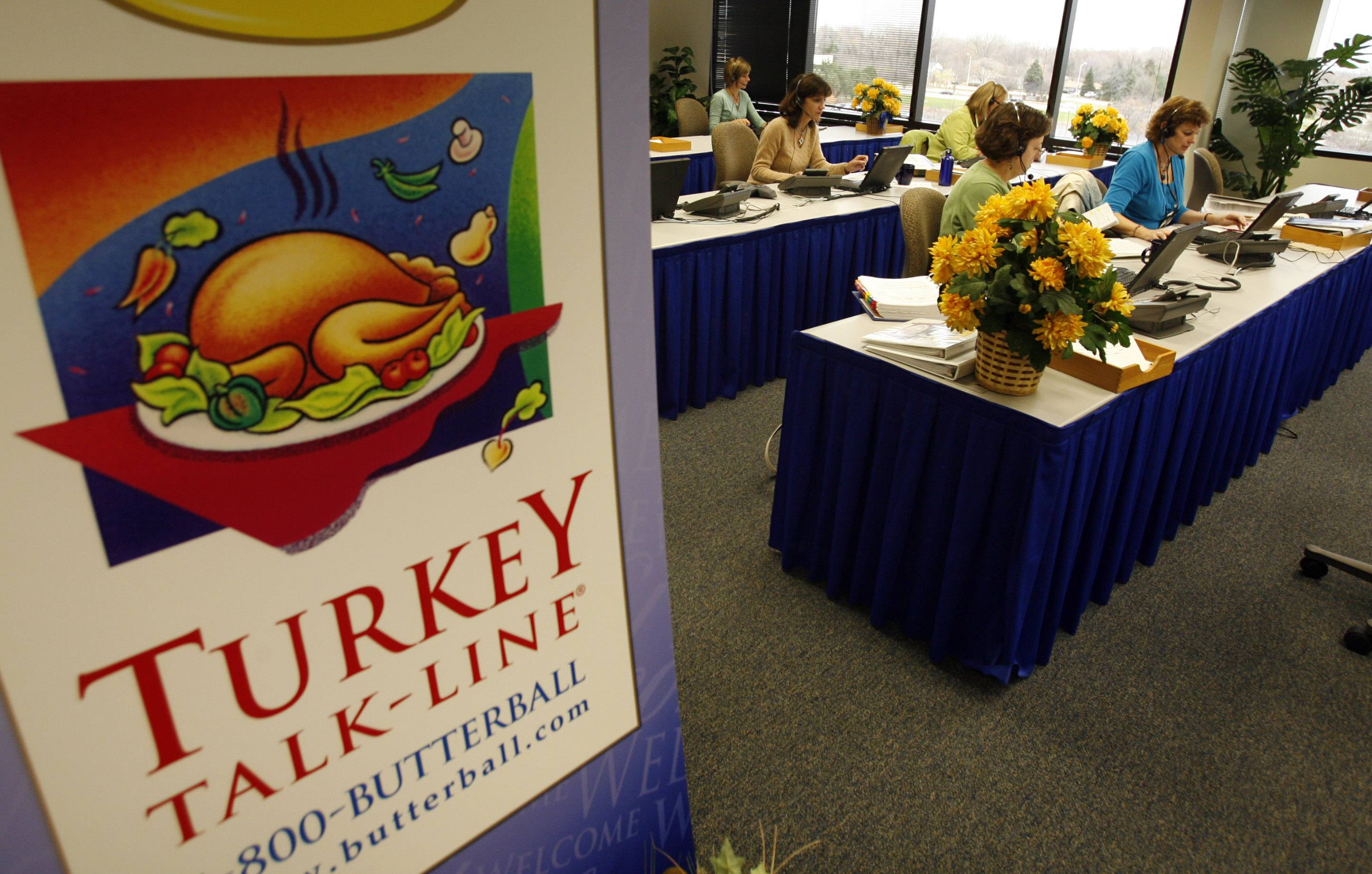 DAILY HERALD FILE PHOTOButterball's Turkey Talk Line will remain in Naperville.