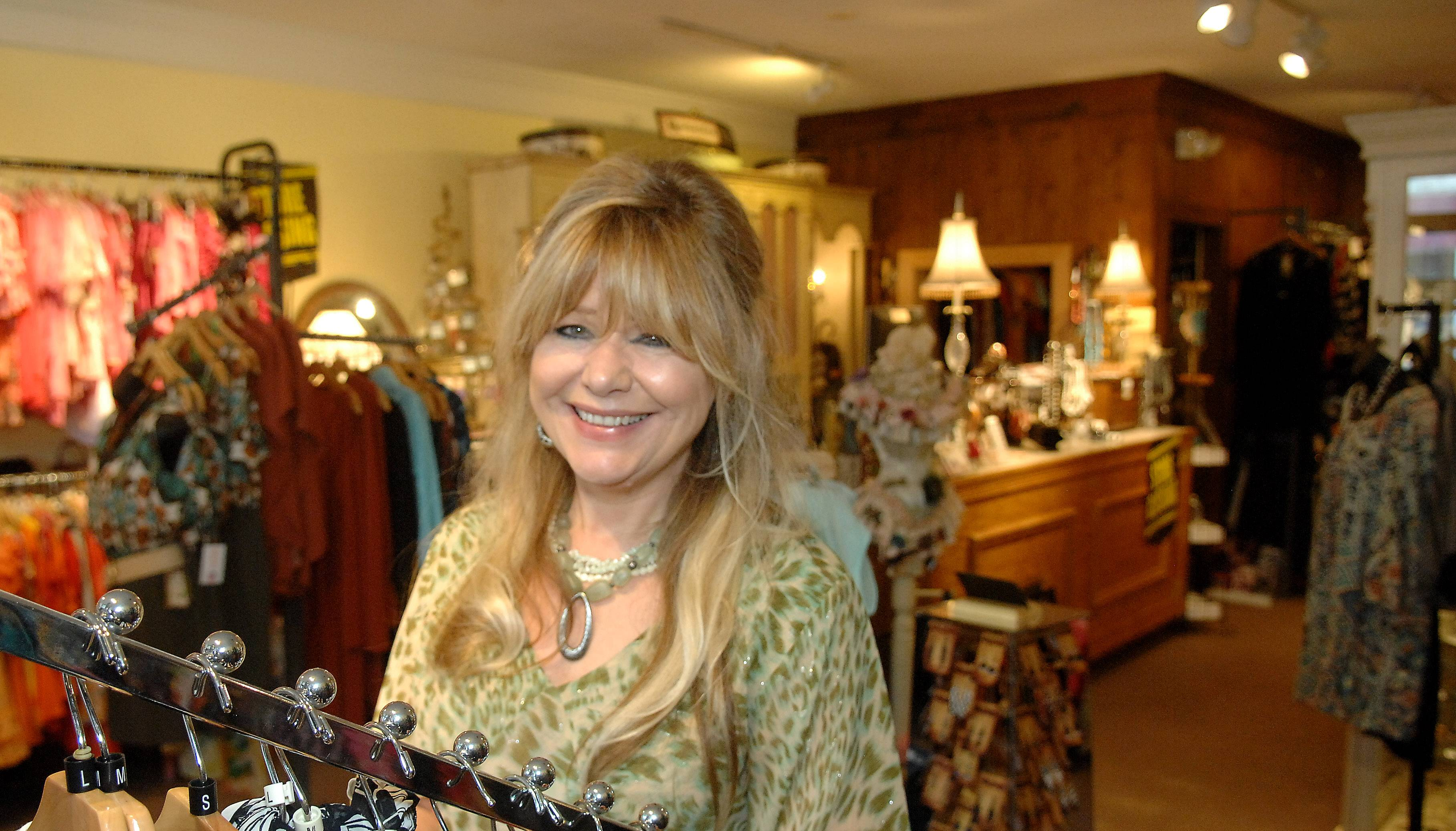 Hanan Hall, owner of The Fox and Filly boutique, is closing her West Dundee shop this year to focus on online sales, art shows and jewelry making.
