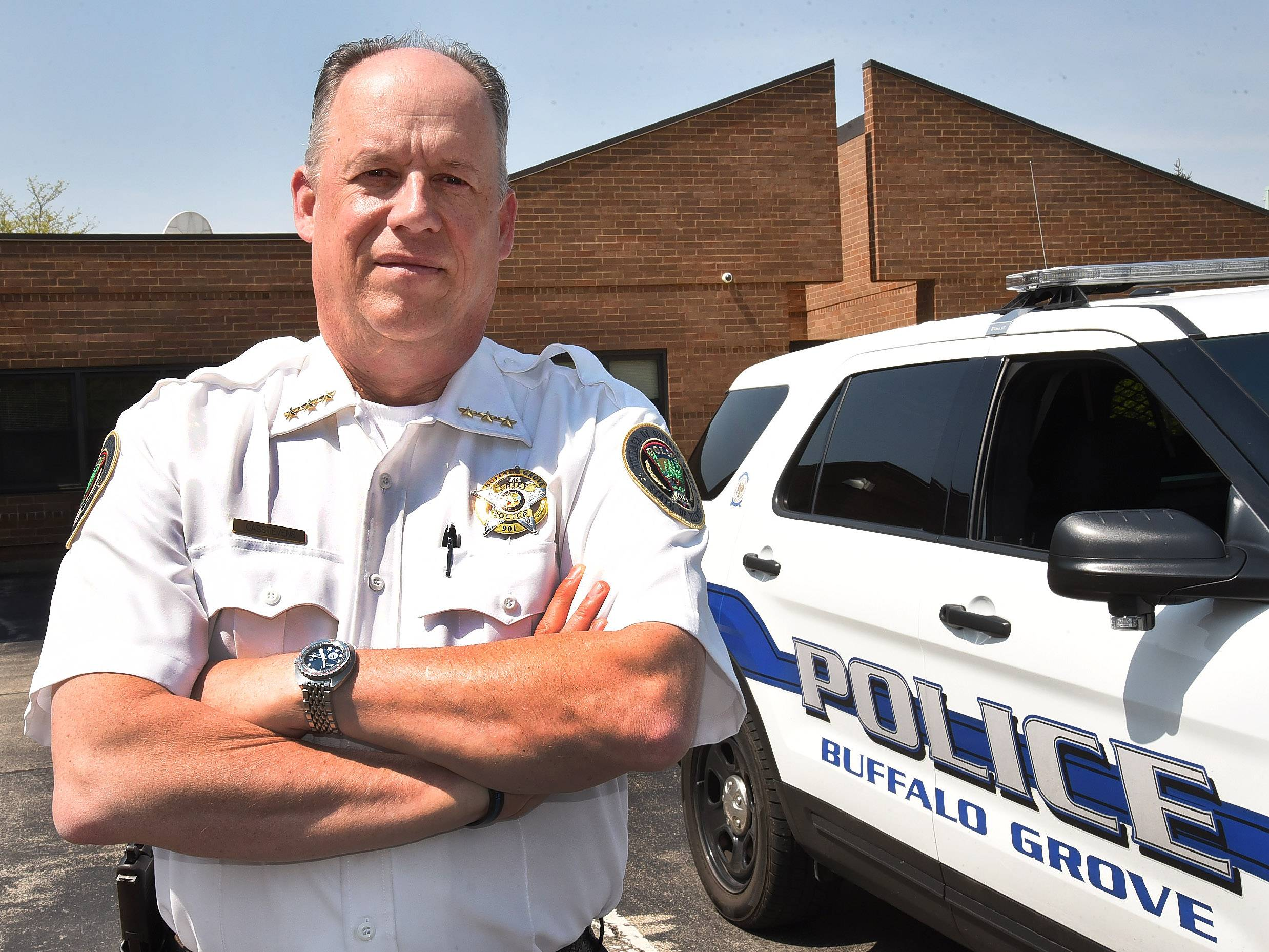 Buffalo Grove Police Chief Steven Casstevens wrote a front-page essay on why it's important to take time to appreciate our local police.
