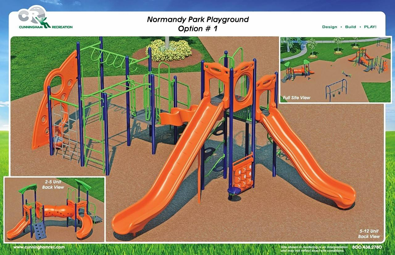 Lake in the Hills will upgrade playground equipment at three parks this summer. The playgrounds at Leroy Guy and Normandy parks will be closed beginning the week of June 22 through mid-July for equipment replacement. A portion of Cattail Park will be cordoned off where two new pieces of playground equipment will be added.