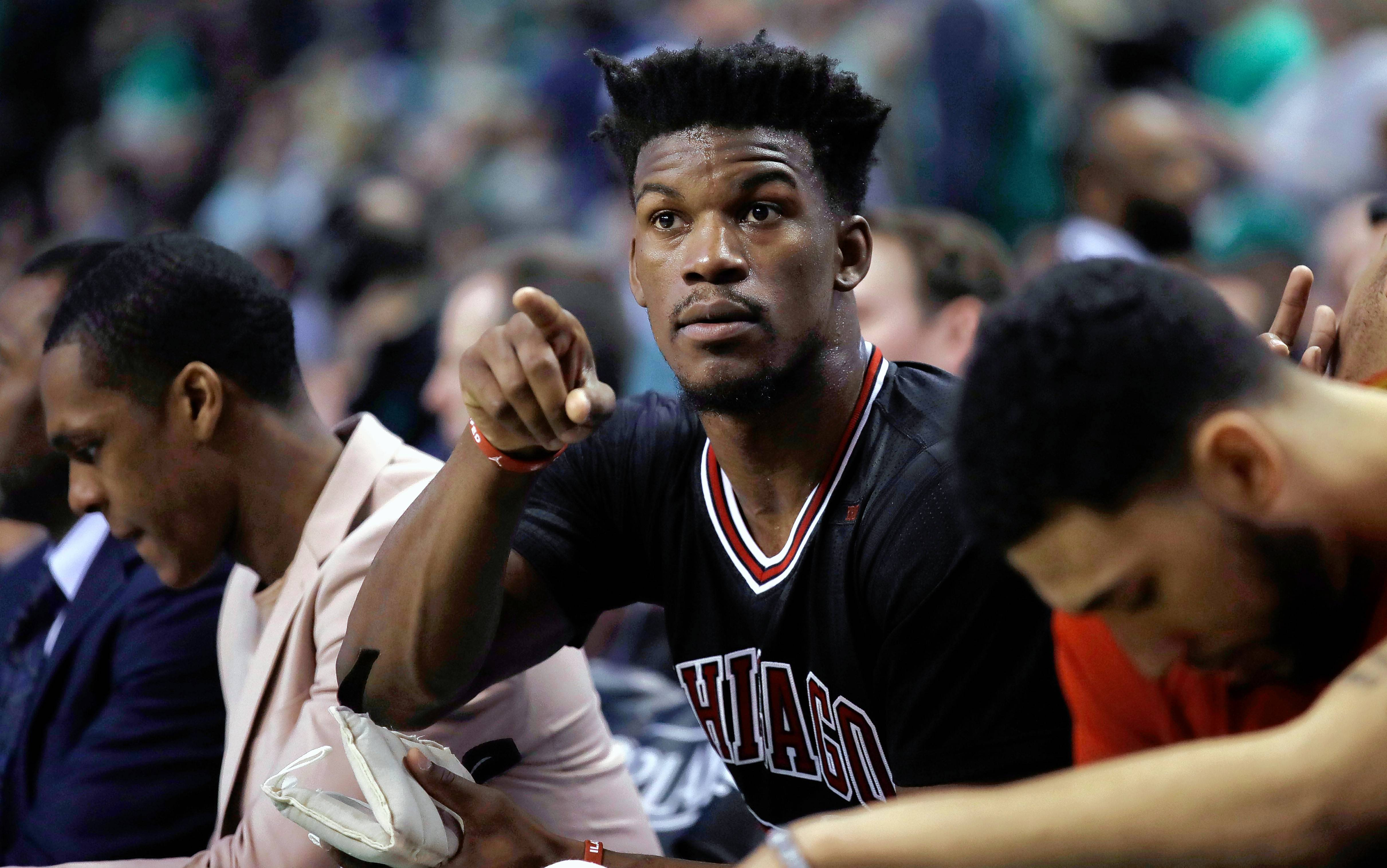 Chicago Bulls forward Jimmy Butler earned a spot on the All-NBA Third Team with his play this season.