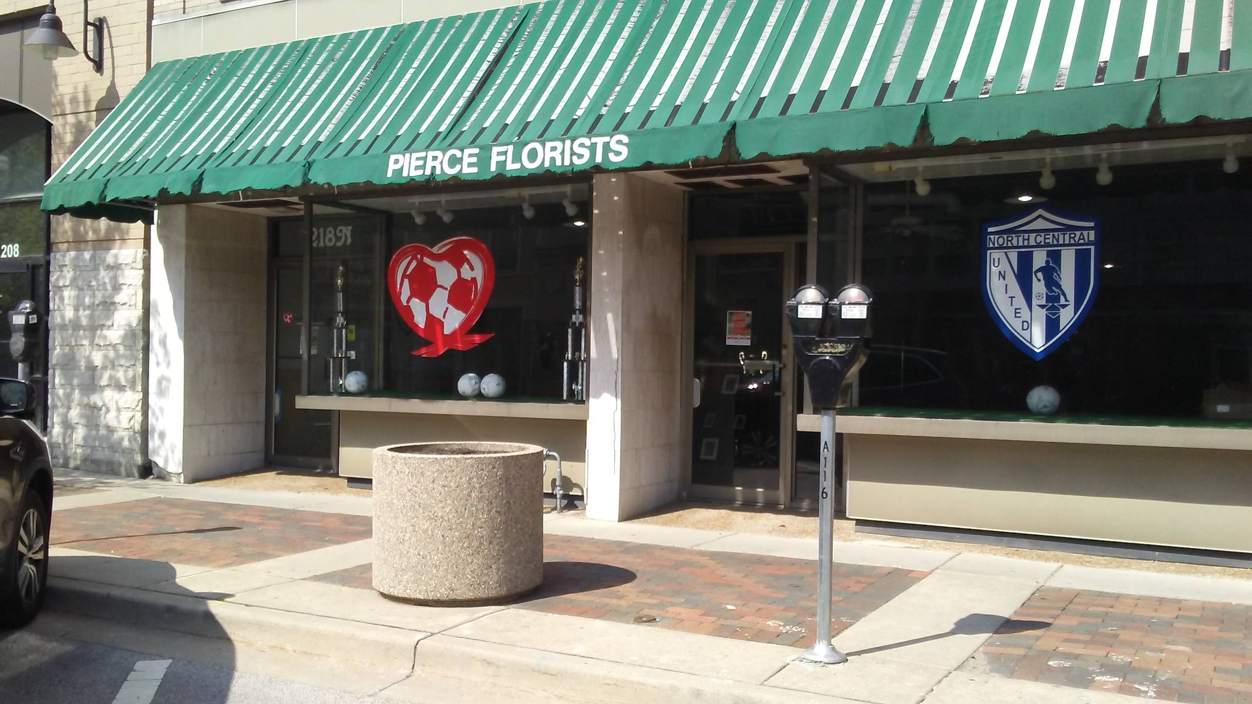 Heart of the City is now located at 218 Genesee St. in Waukegan in the building formerly known as Pierce Florists.Adrienne Wright