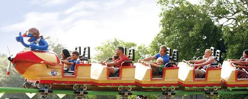 This undated photo provided by SeaWorld Parks & Entertainment shows the Grover Coaster at the current Sesame Place theme park located in Langhorne, Penn., and is the nation's only theme park based entirely on the award-winning educational program Sesame Street. On Thursday, May 18, 2017, SeaWorld Entertainment and Sesame Workshop announced an extension of their 37-year partnership to include the development of an additional Sesame Place theme park scheduled to open by 2021 in a U.S. location to be determined. The new license agreement extends SeaWorld's status as Sesame Workshop's exclusive theme park partner in the U.S. and makes it possible for Sesame Street characters to continue to appear at the existing distinct Sesame Street lands inside the company's two Busch Gardens theme parks and SeaWorld theme parks in San Diego and San Antonio, as well as a new Sesame Street land to be built in SeaWorld Orlando in the near future. (SeaWorld Parks & Entertainment via AP)