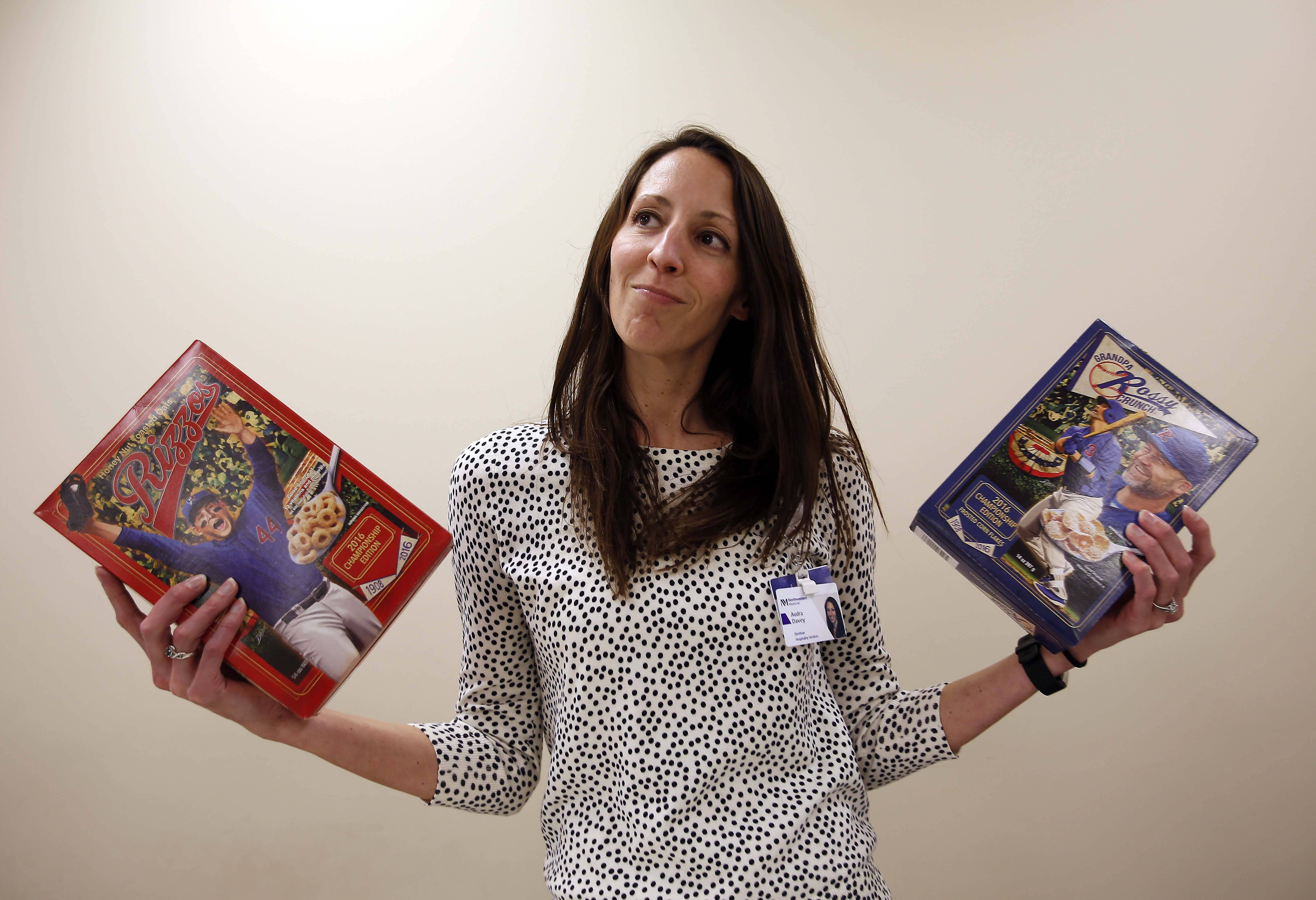 Retired Cub David Ross takes on current Cub Anthony Rizzo in this cereal battle. Registered dietitian Audra Davey, a nutritionist with The Northwestern Medicine Weight Management Program at Delnor Hospital in Geneva, breaks it down for us.