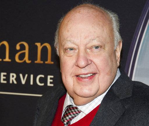 "FILE - In this Feb. 9, 2015, file photo, Roger Ailes attends a special screening of ""Kingsman: The Secret Service"" in New York. Fox News said on Thursday, May 18, 2017, that Ailes has died. He was 77. (Photo by Charles Sykes/Invision/AP, File)"