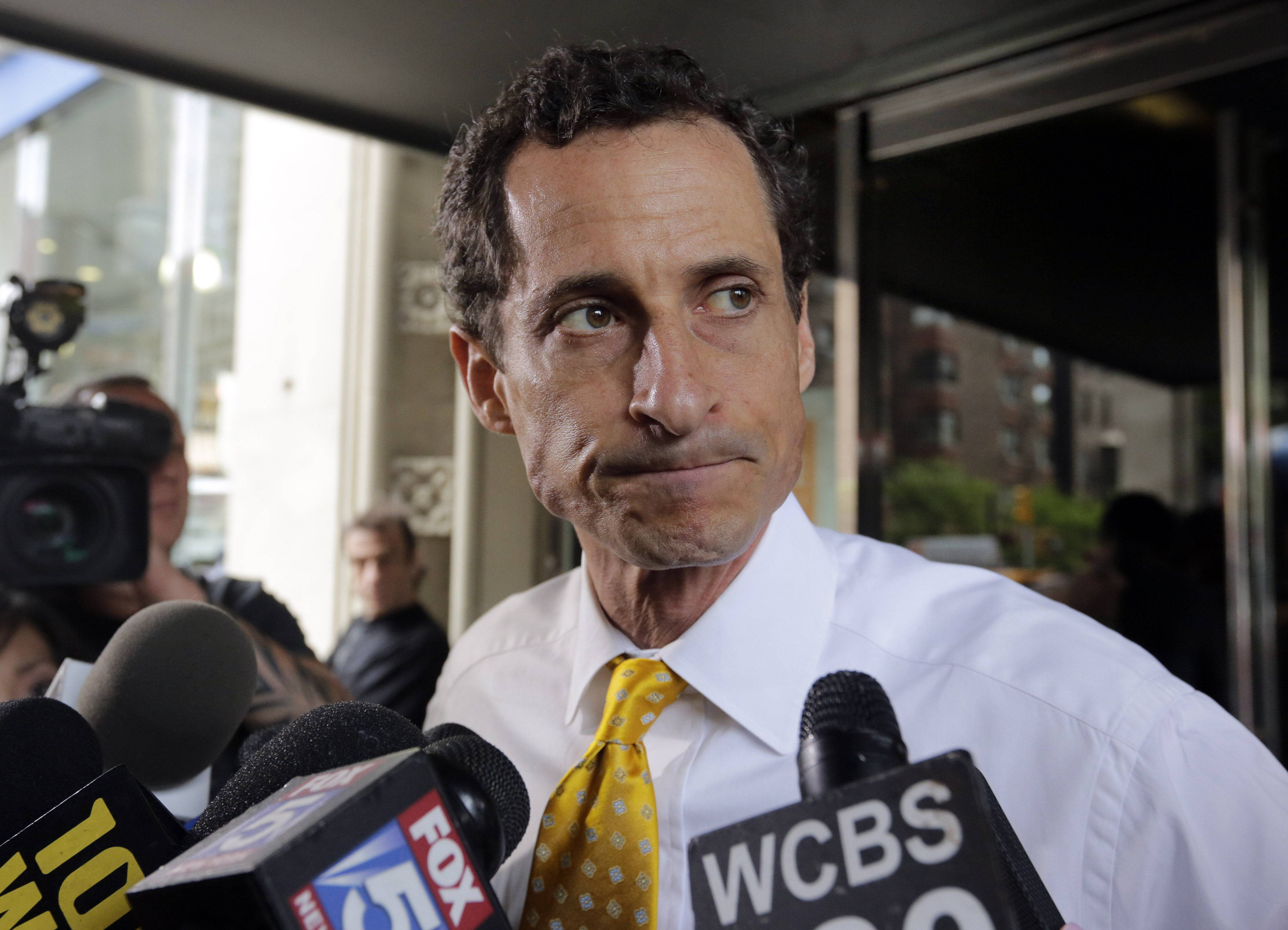 Former U.S. Rep. Anthony Weiner has pleaded guilty to transmitting sexual material to a minor and could get years in prison. Weiner agreed Friday not to appeal any sentence between 21 and 27 months in prison.