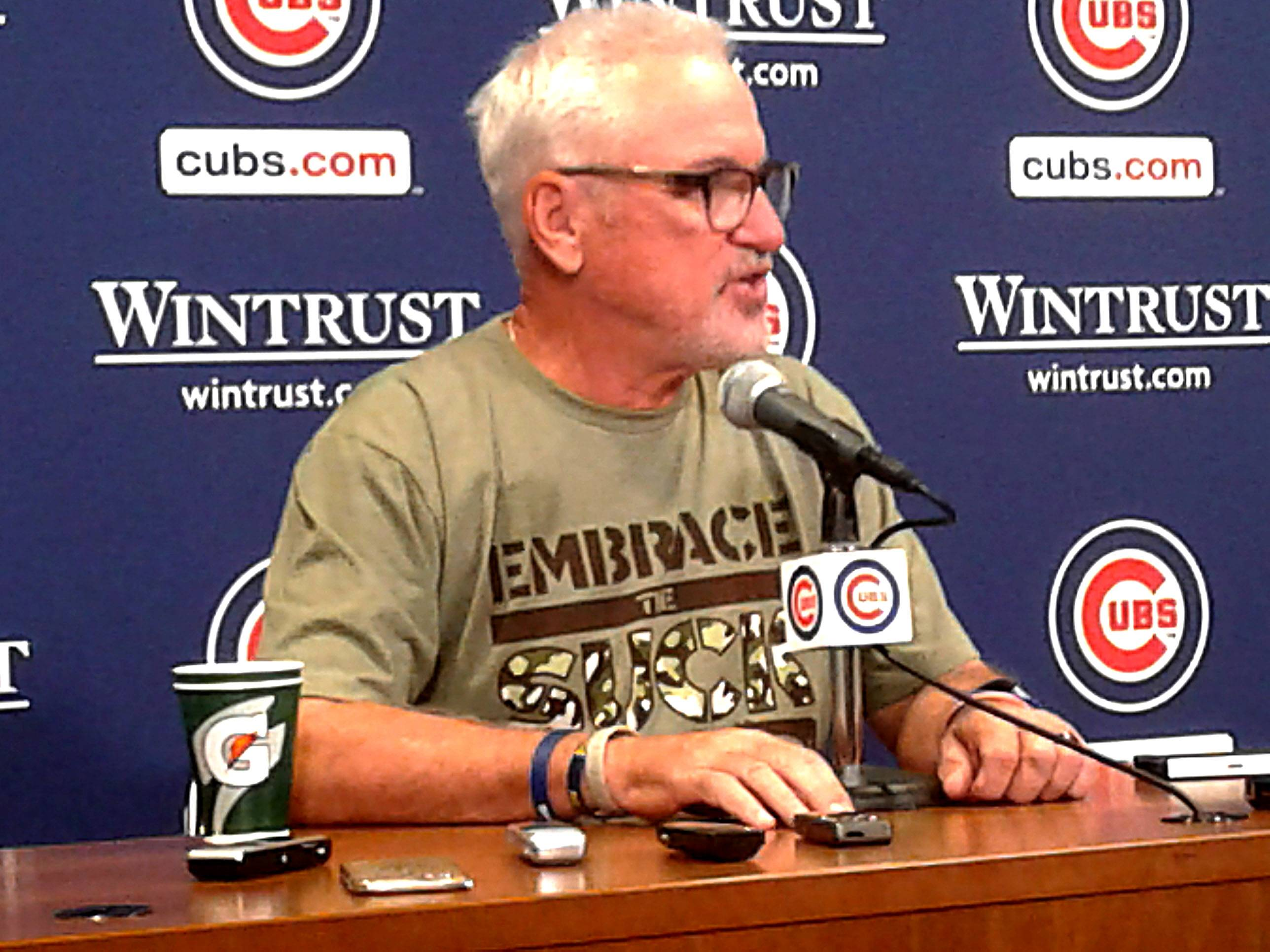 Maddon's newest message: Roll with the punches