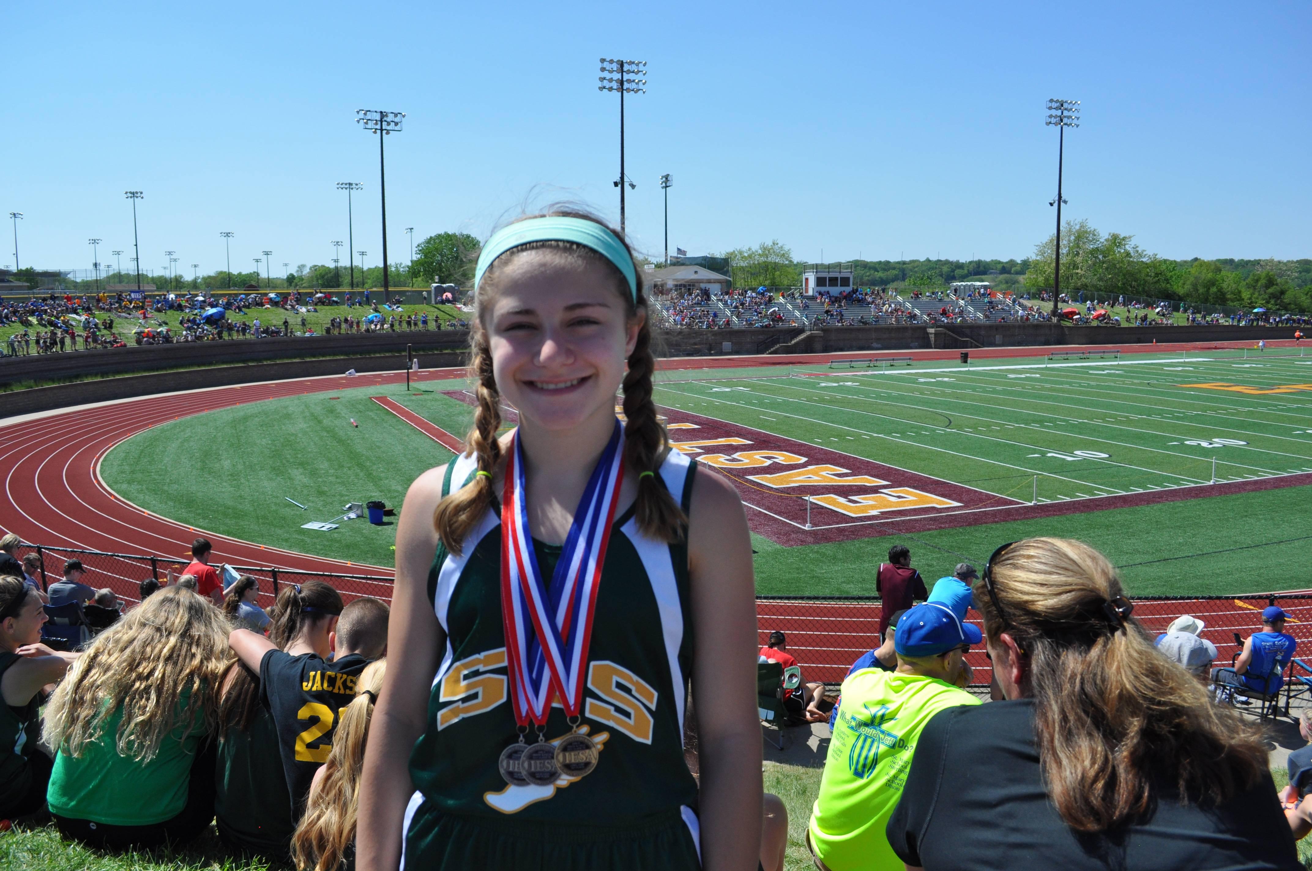 St. Theresa School Track & Field Team Achieves Amazing Accomplishments