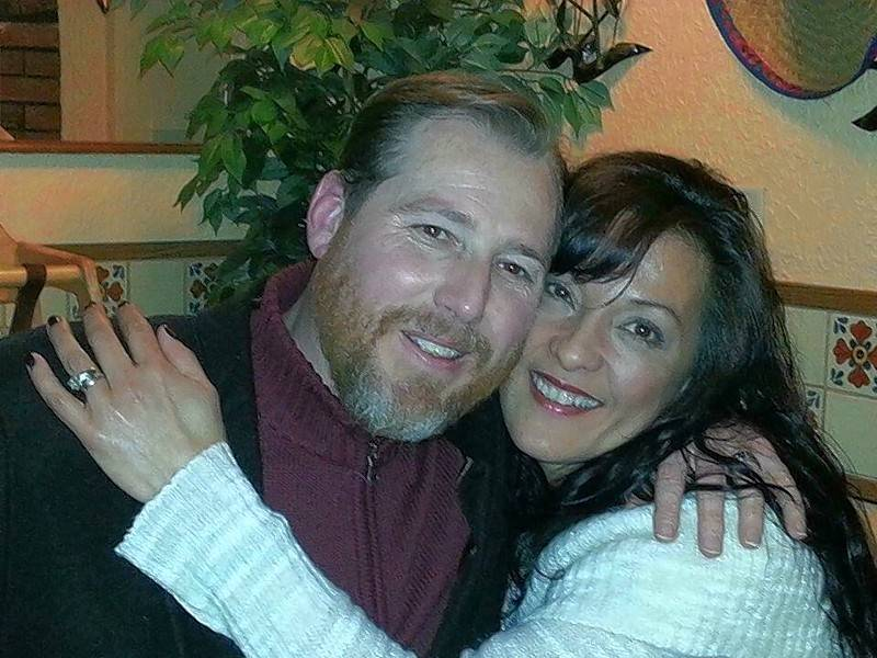 "Michael Case, shown with his wife Sara, faces a long recovery after being shot Tuesday in Naperville. ""He just said to me, 'I love you, I love you, I love you,' and that's the last I actually have heard his voice or was able to talk to him,"" Sara said Friday."