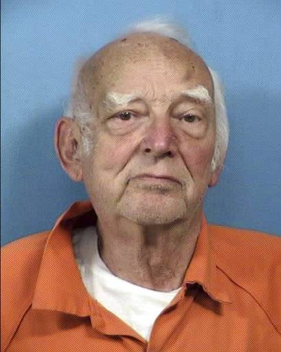 This undated photo provided by the DuPage County State's Attorney's Office shows Edward Klein. Klein, A retired federal law enforcement officer was charged in the May 16, 2017 shooting of an Amtrak train conductor in Naperville, Ill. Klein appeared in bond court Friday May 19, 2017 on attempted murder and aggravated battery charges. He was ordered held in lieu of $1.5 million bail. (DuPage County State's Attorney's Office via AP)