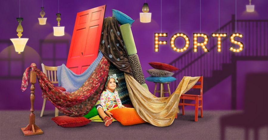 Let kids go crazy building forts at the Chicago Children's Museum from May 26-Sept. 17.