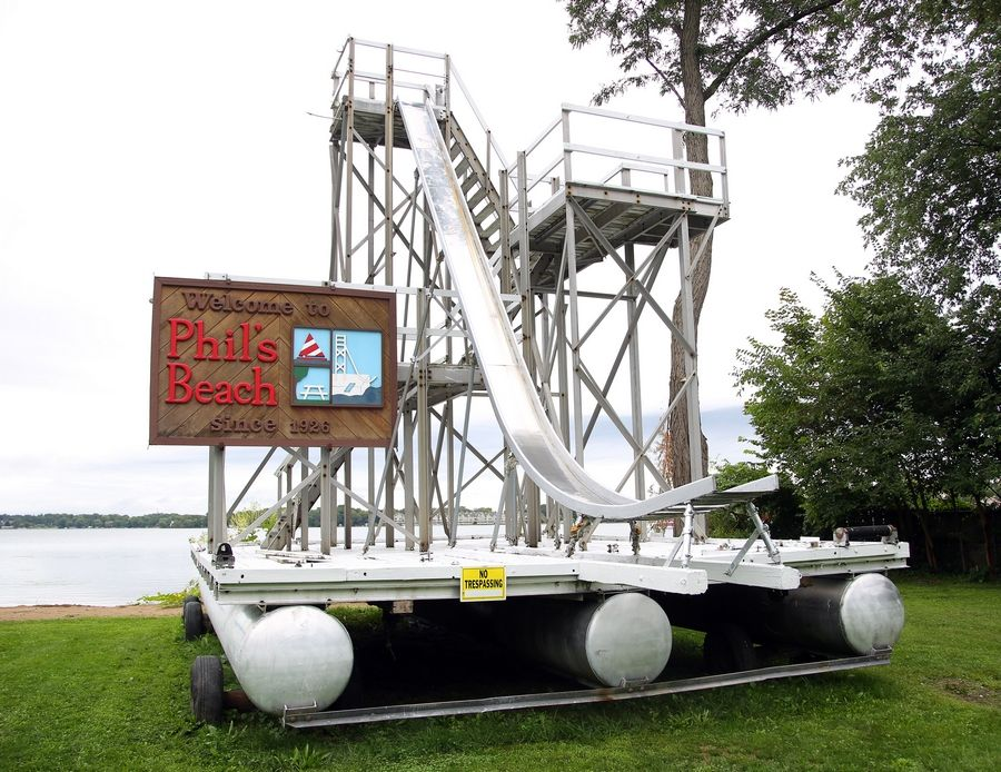 Wauconda Park District officials are creates plans to reopen Phil's Beach to the public with new amenities like floating play platforms and a splash pad. The district bought the site last year.