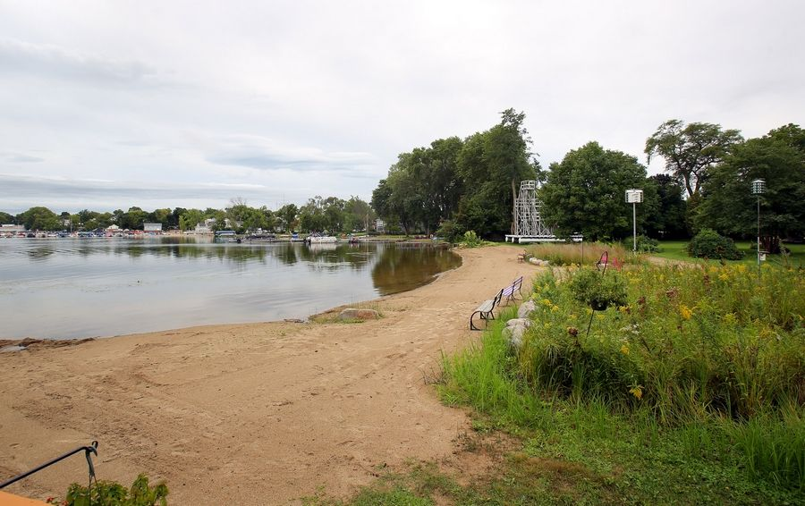 The Wauconda Park District is preparing plans for a new park at Phil's Beach. Amenities could include a splash park, a picnic pavilion and floating play platforms.