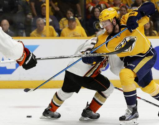 Predators confirm Johansen suffered compartment syndrome