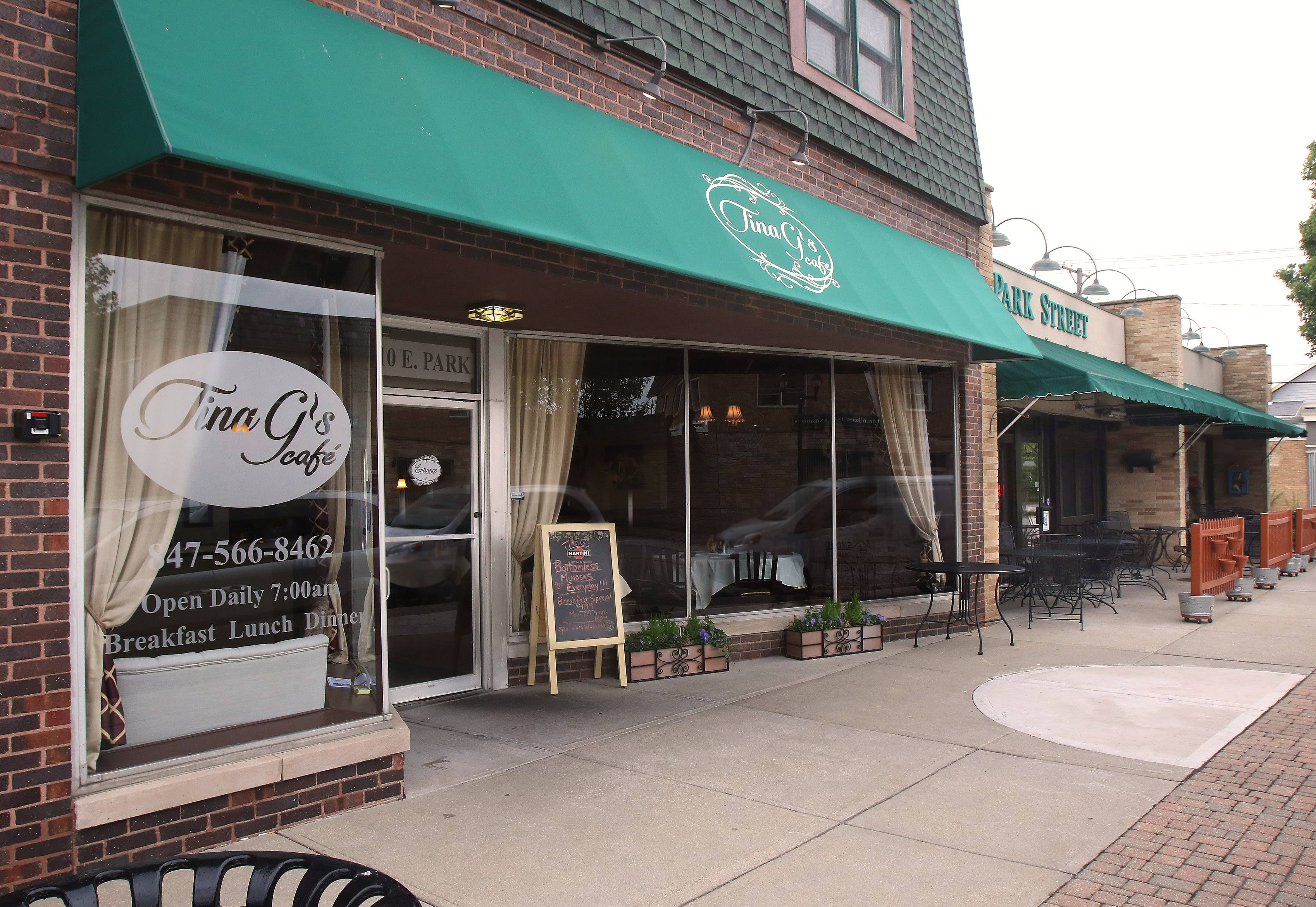 Tina G's in Mundelein opening outdoor dining section