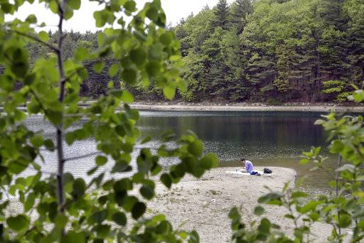walden pond thesis Economy when i wrote the following pages, or rather the bulk of them, i lived alone, in the woods, a mile from any neighbor, in a house which i had built myself, on the shore of walden pond, in concord, massachusetts, and earned my.