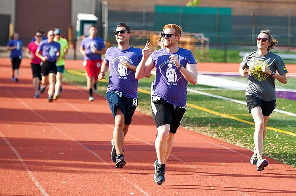 Participants in the second annual Ben's Memorial Mile, which raises money for mental health research and support, will circle the track beginning at 5 p.m. Saturday, June 17, at Downers Grove North High School.