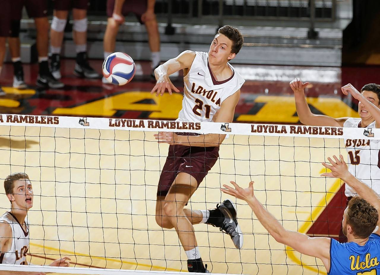 Photo courtesy of Steve Woltmann/Loyola Athletics Jeff Jendryk