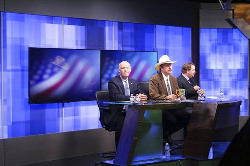 The Latest: Fox News says crew saw Gianforte attack reporter