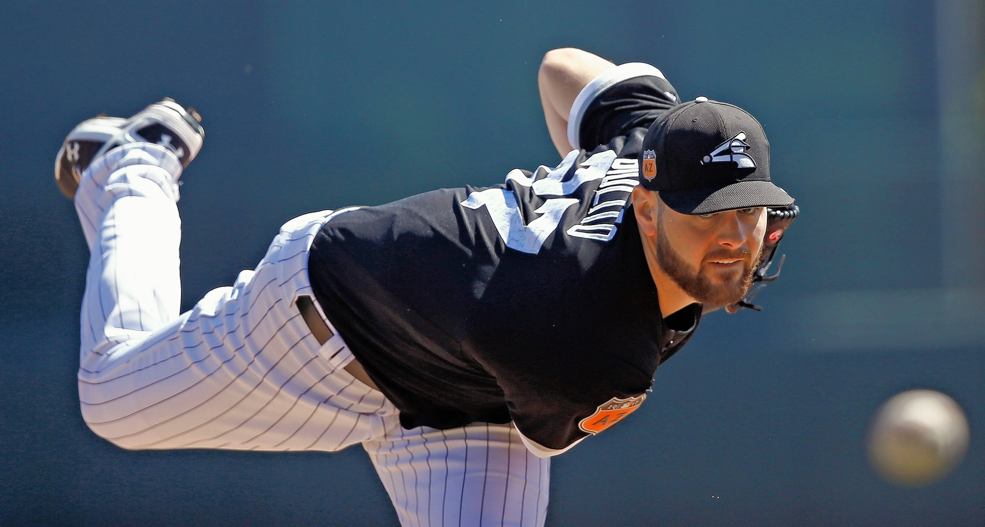 Class AAA Charlotte starting pitcher Lucas Giolito pitched a 7-inning no-hitter Thursday night in the Knights' 4-0 win over Syracuse. The Chicago White Sox acquired Giolito from the Washington Nationals in the Adam Eaton trade.