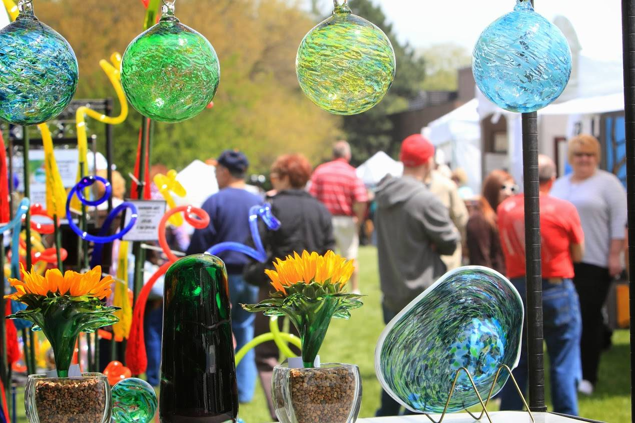 Schaumburg's Prairie Arts Festival will take place from 10 a.m. to 5 p.m. Sunday, May 24, on the Robert O. Atcher Municipal Center grounds. Admission and parking are free.
