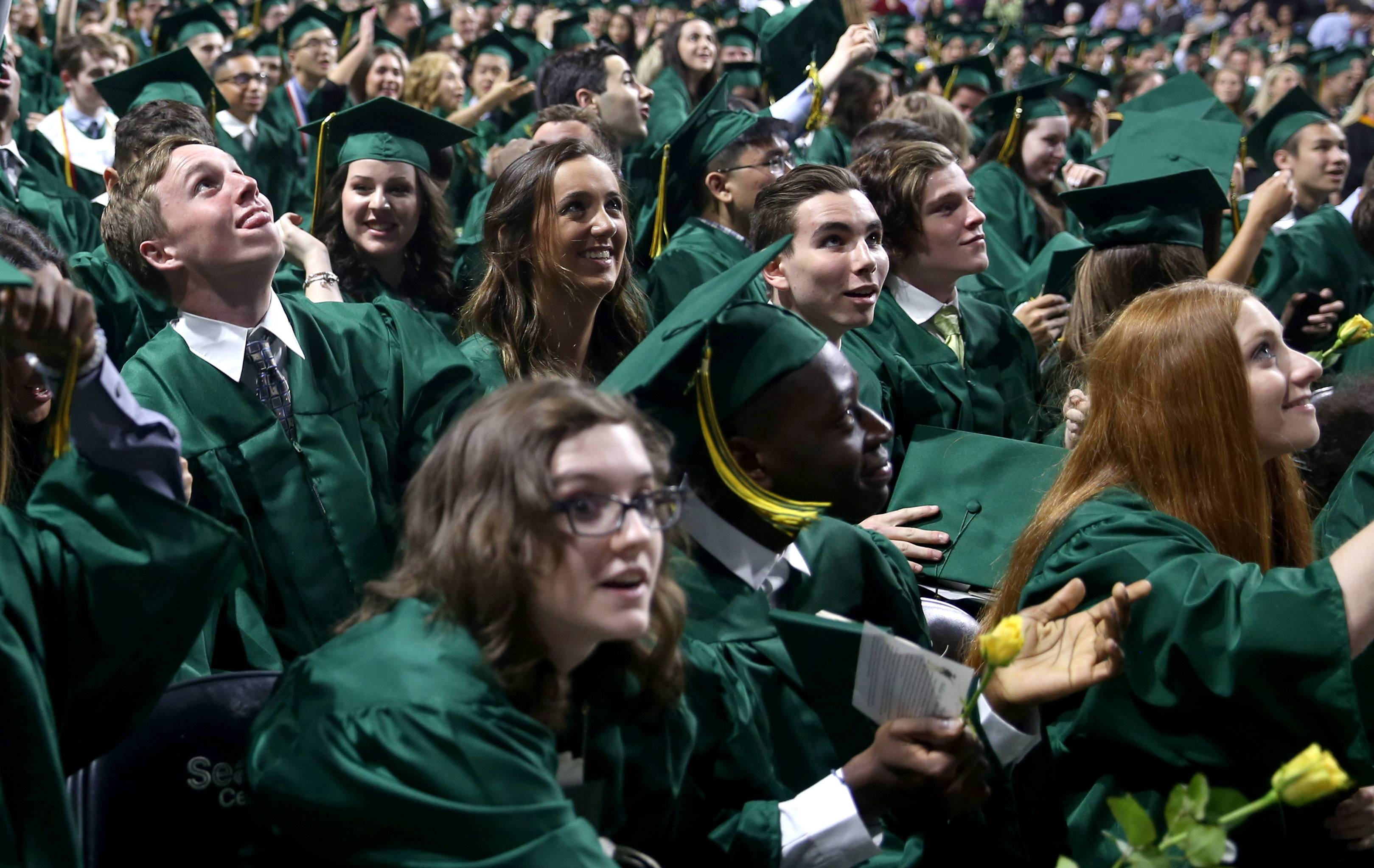 Images from the Stevenson High School graduation ceremony on Friday, May 26 at the Sears Centre in Hoffman Estates.