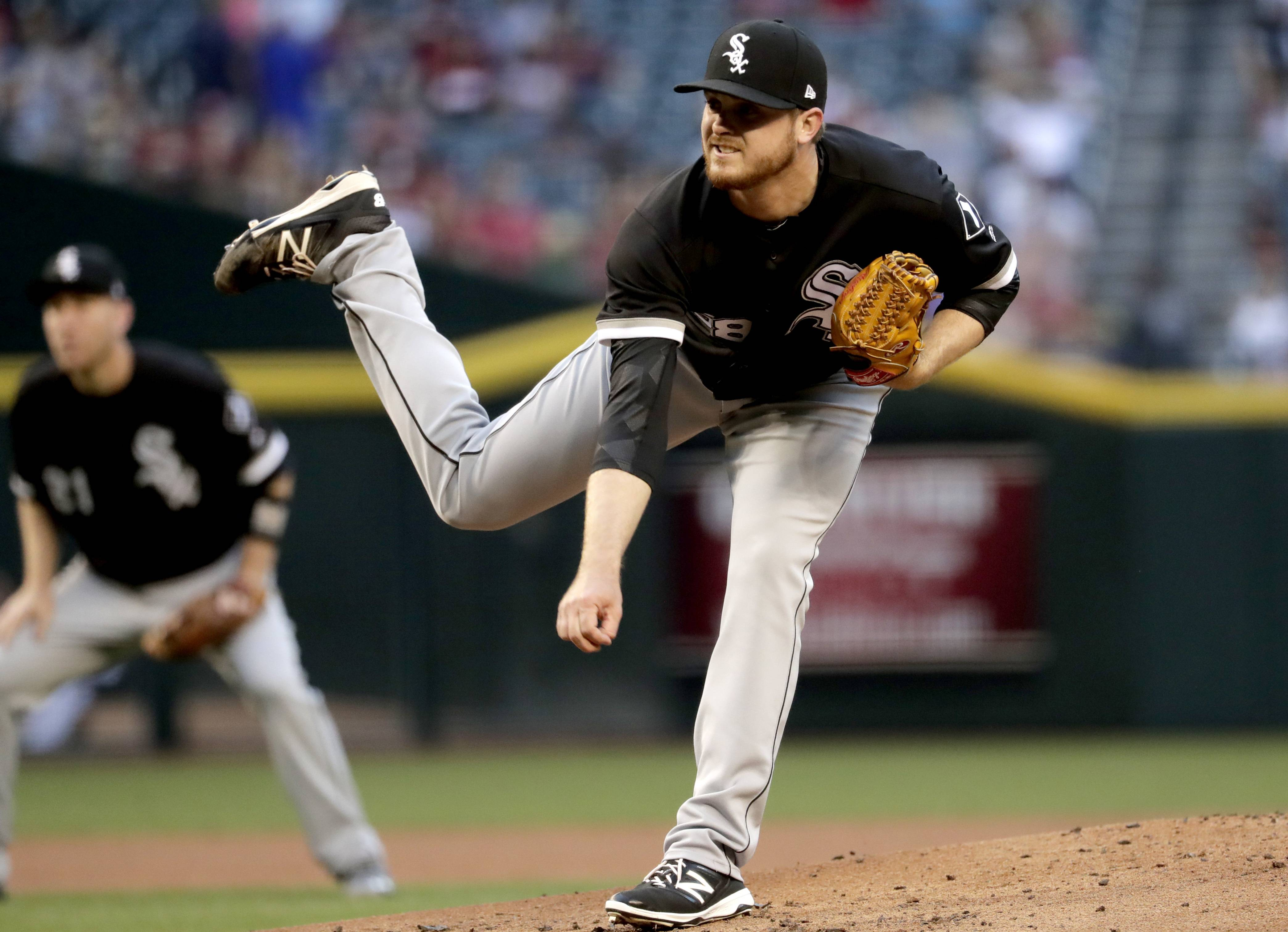White Sox starter Dylan Covey was put on the 10-day disabled list Friday with a strained left oblique.