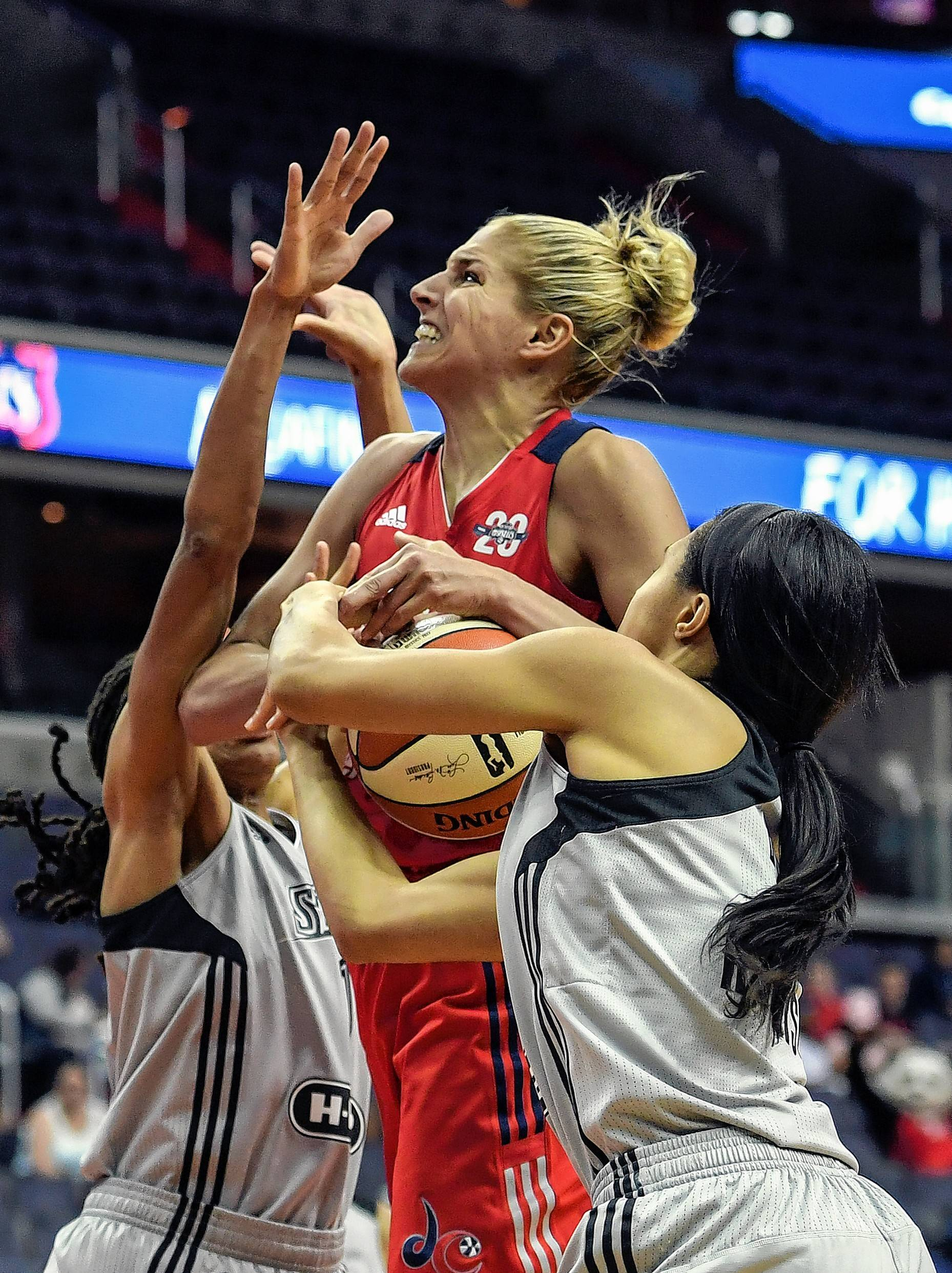 "Former Chicago Sky star Elena Delle Donne says being traded to the Washington Mystics has been ""everything that I was looking for."""