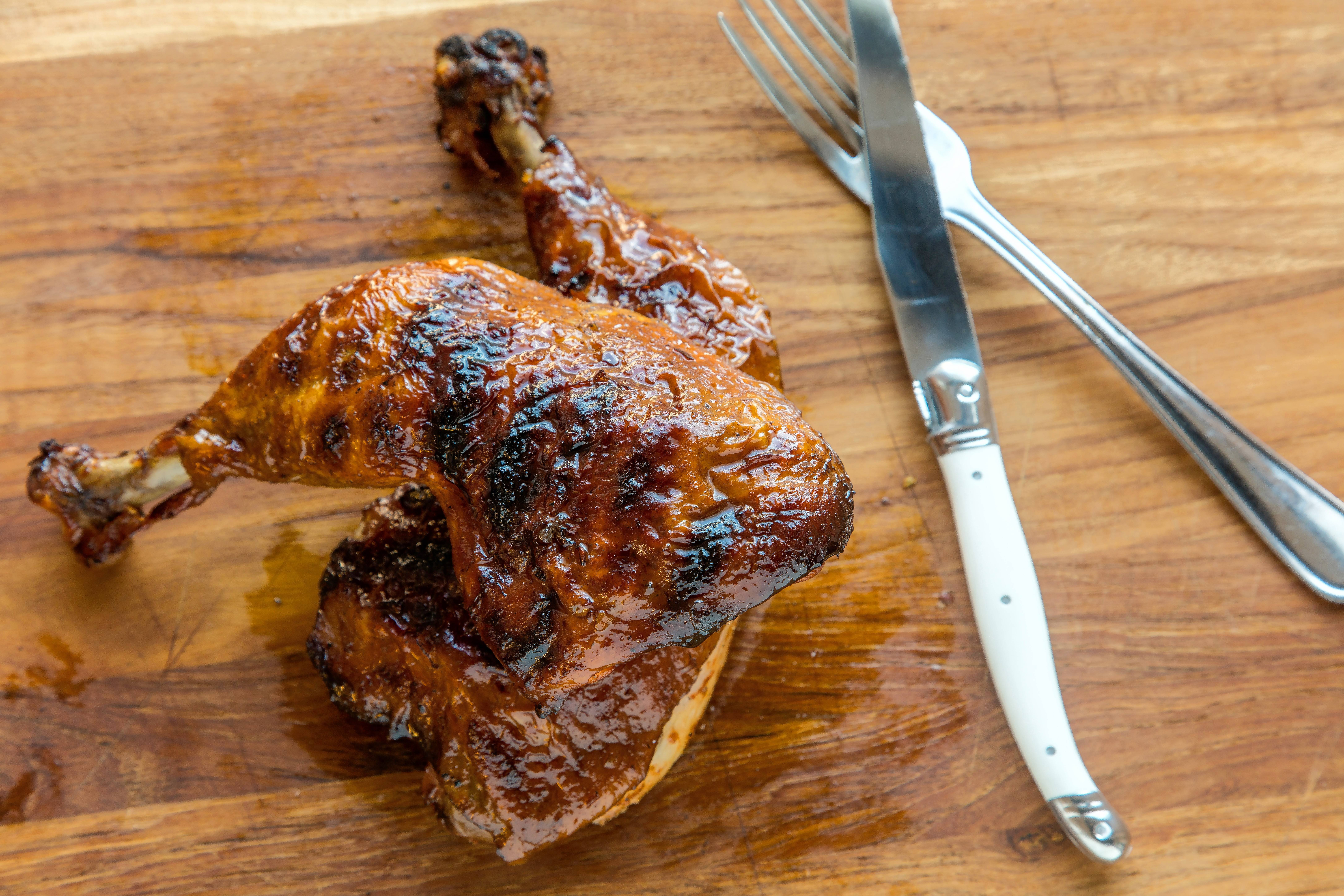 Goran Kosanovic for/The Washington PostShenandoah Valley-Style Barbecue Chicken.