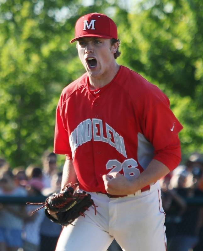Baseball: Calmly, Murphy does it for Mundelein