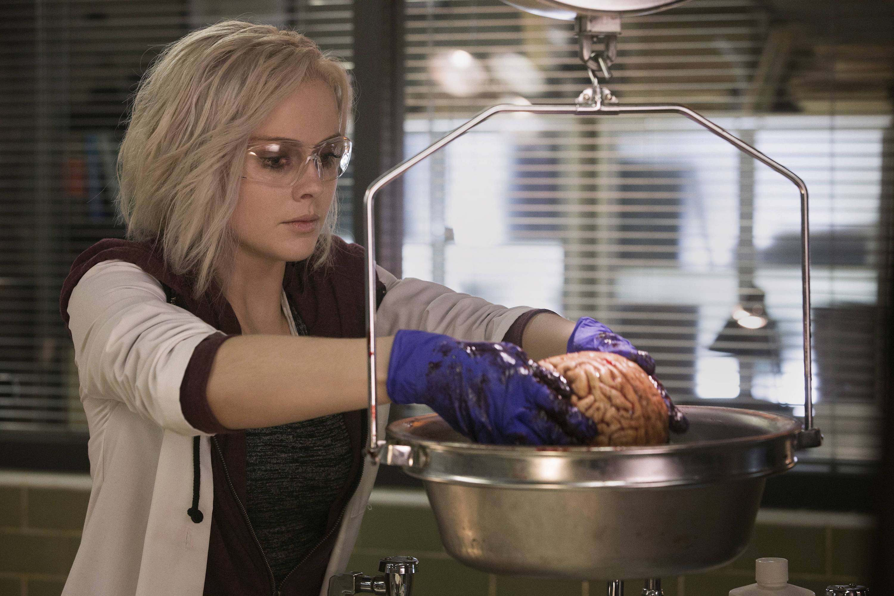 "Liv Moore (Rose McIver) eats brains to solve murders in the smart, funny ""iZombie."""