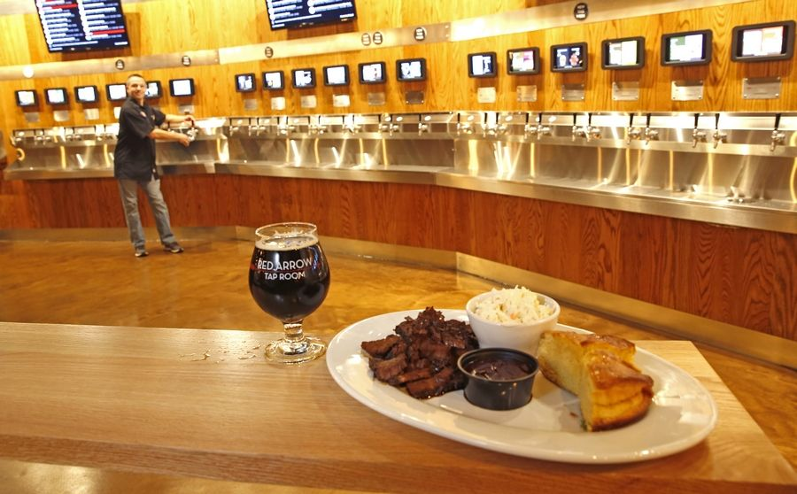 Red Arrow Tap Room, an Elmhurst craft beer and barbecue restaurant that offers self-service pours by the ounce of 44 beers and four wines, is set to open its second location in the Marq on Main development in downtown Lisle.