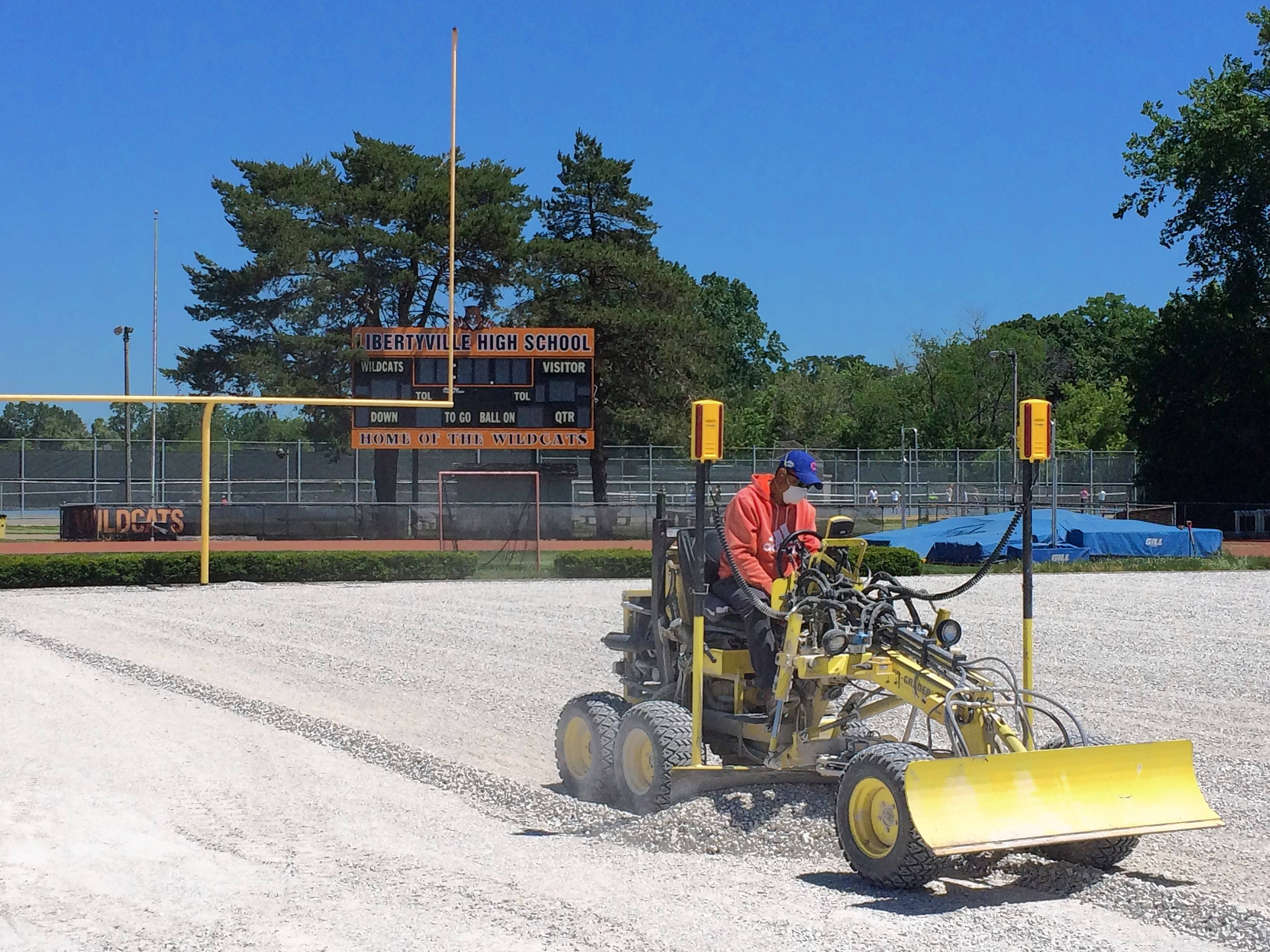 Libertyville High stadium getting new artificial turf