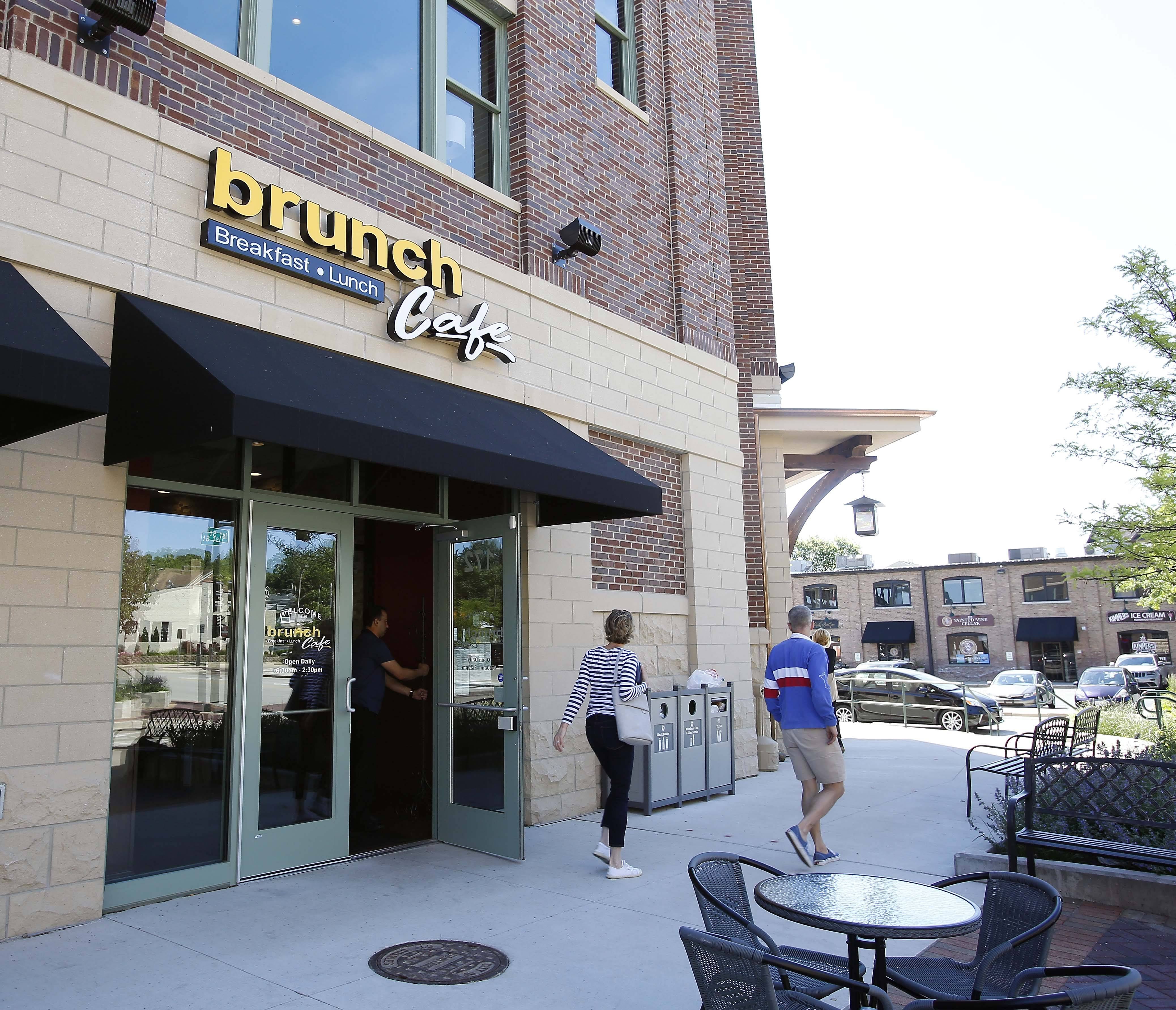 Brunch Cafe is in a new building that's part of the revitalization of downtown St. Charles.