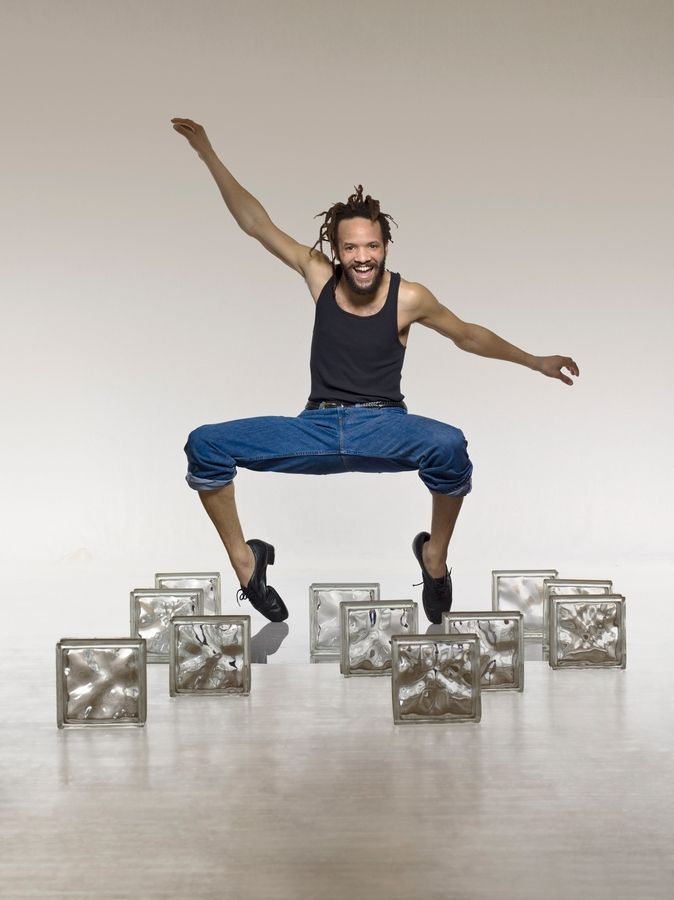 Tony Award-winner Savion Glover performs at College of DuPage's McAninch Arts Center in Glen Ellyn on Sunday, Nov. 26.