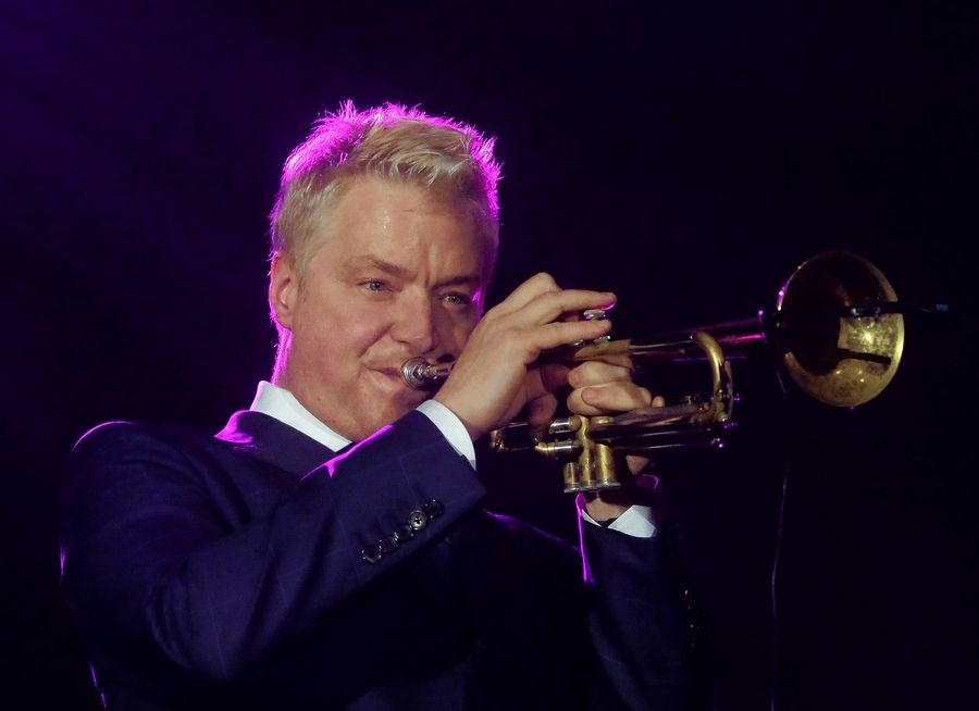 Composer and trumpeter Chris Botti performs at College of DuPage's McAninch Arts Center in Glen Ellyn on Saturday, Jan. 20.