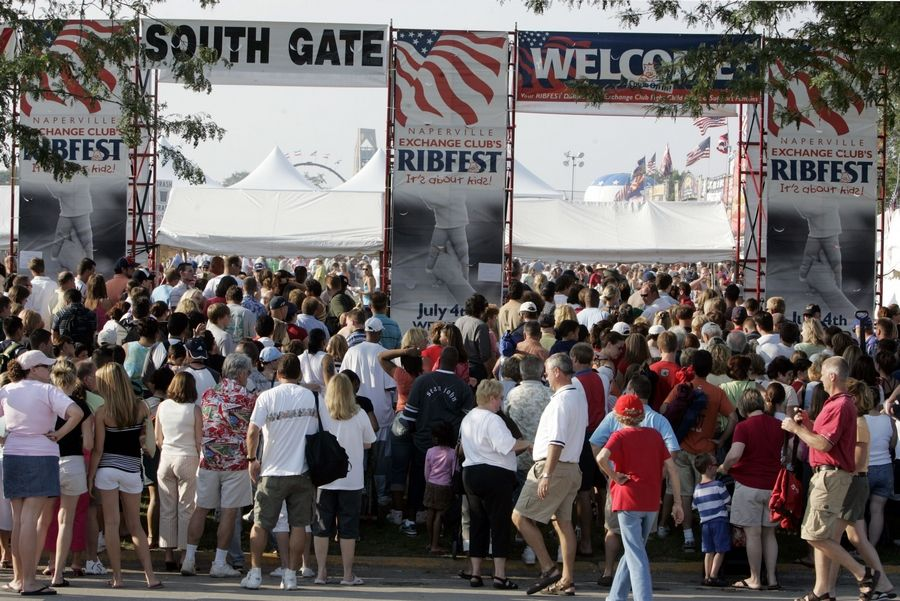 Crowds at this year's Ribfest in Naperville will be monitored more closely by police after the city council voted to add three more security cameras to the setup in Knoch Park. The additional devices will bring the total surveilling Ribfest crowds -- which typically total 100,000 over four days -- to six.