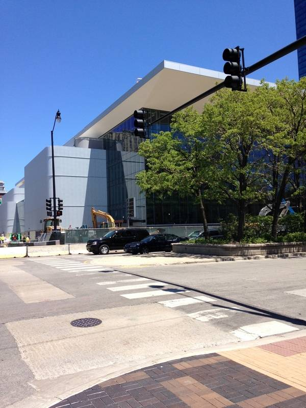 Exterior: DePaul Basketball Excited To Be Back In The City