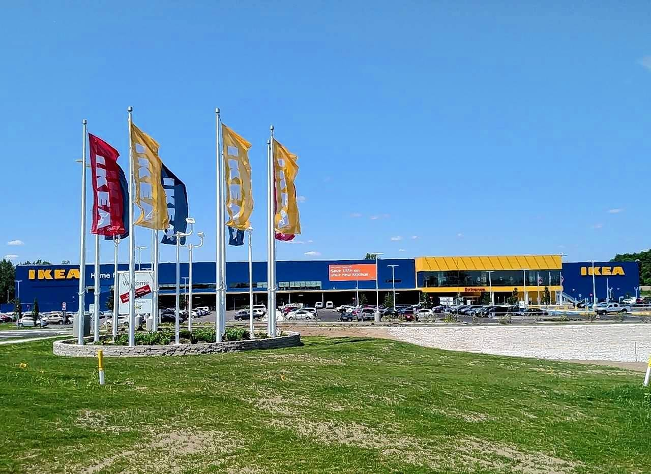 IKEA opened its 44th store in Columbus, Ohio Wednesday.