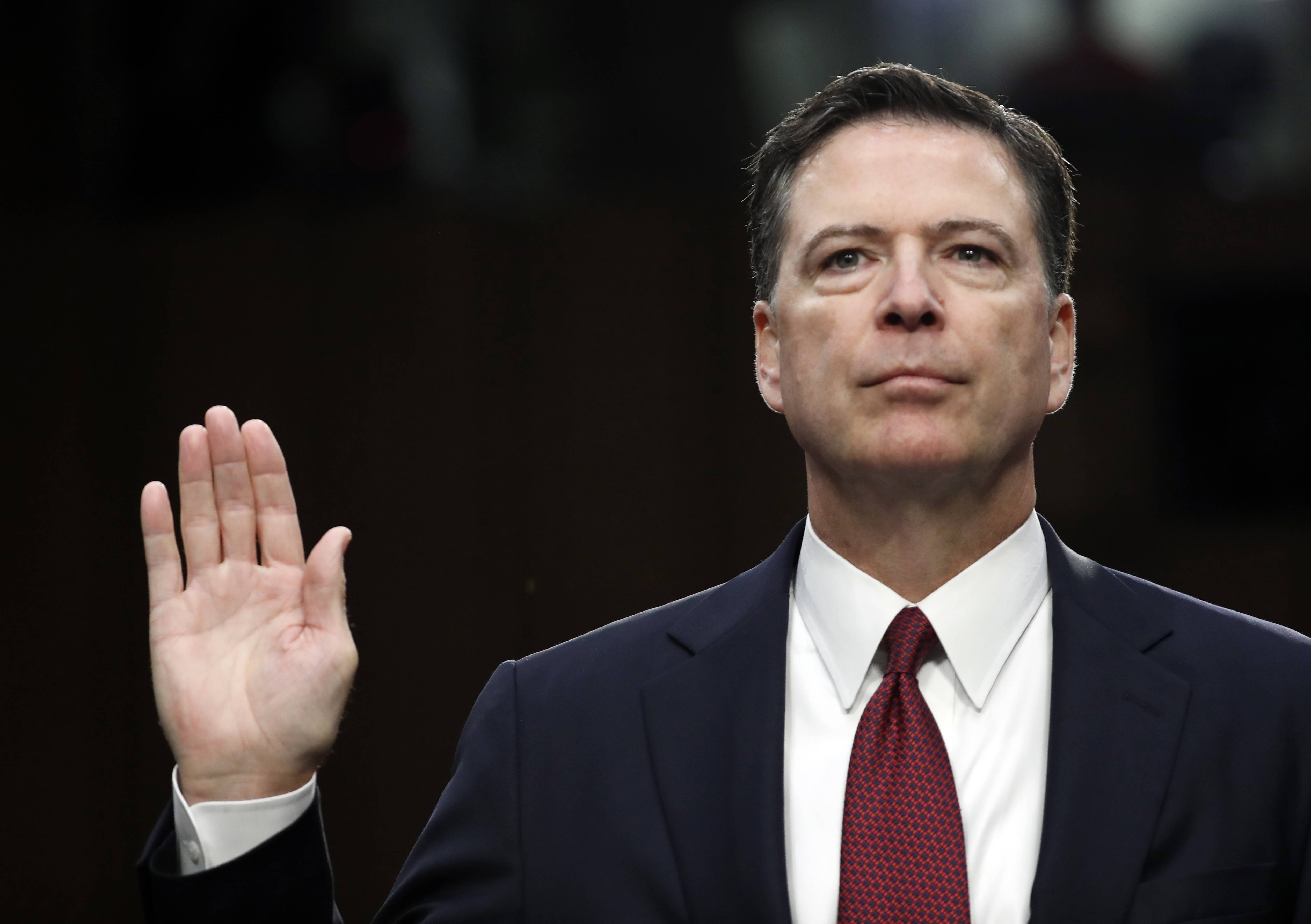 Editorial: Trump's improper bid to influence Comey probe