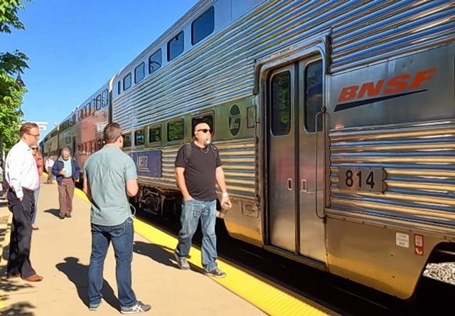 Taking transit to work in Arlington Heights started well with boarding a Metra train in Downers Grove, but a round trip lasted more than 5½ hours.