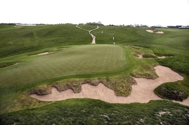 How Wisconsins Erin Hills Golf Course Landed The US Open - Us open erin hills map