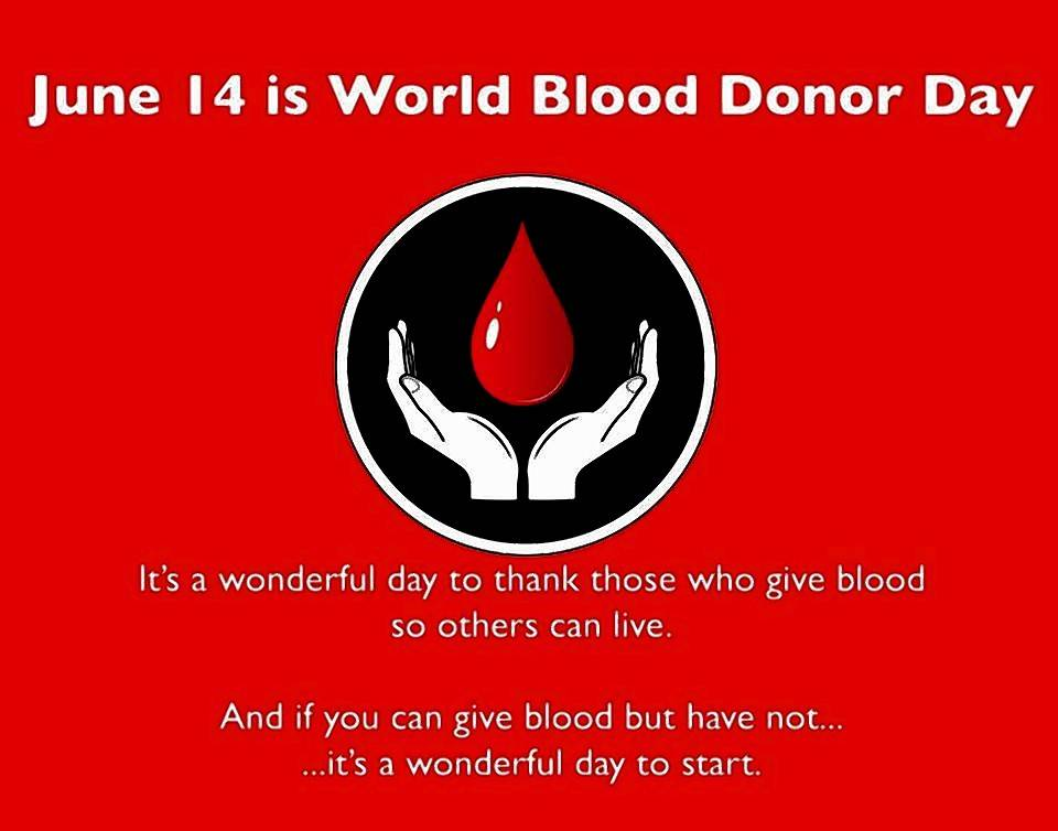 Courtesy Of Heartland Blood Centersconsider Donating At Heartland Blood Centers For World Blood Donor Day June