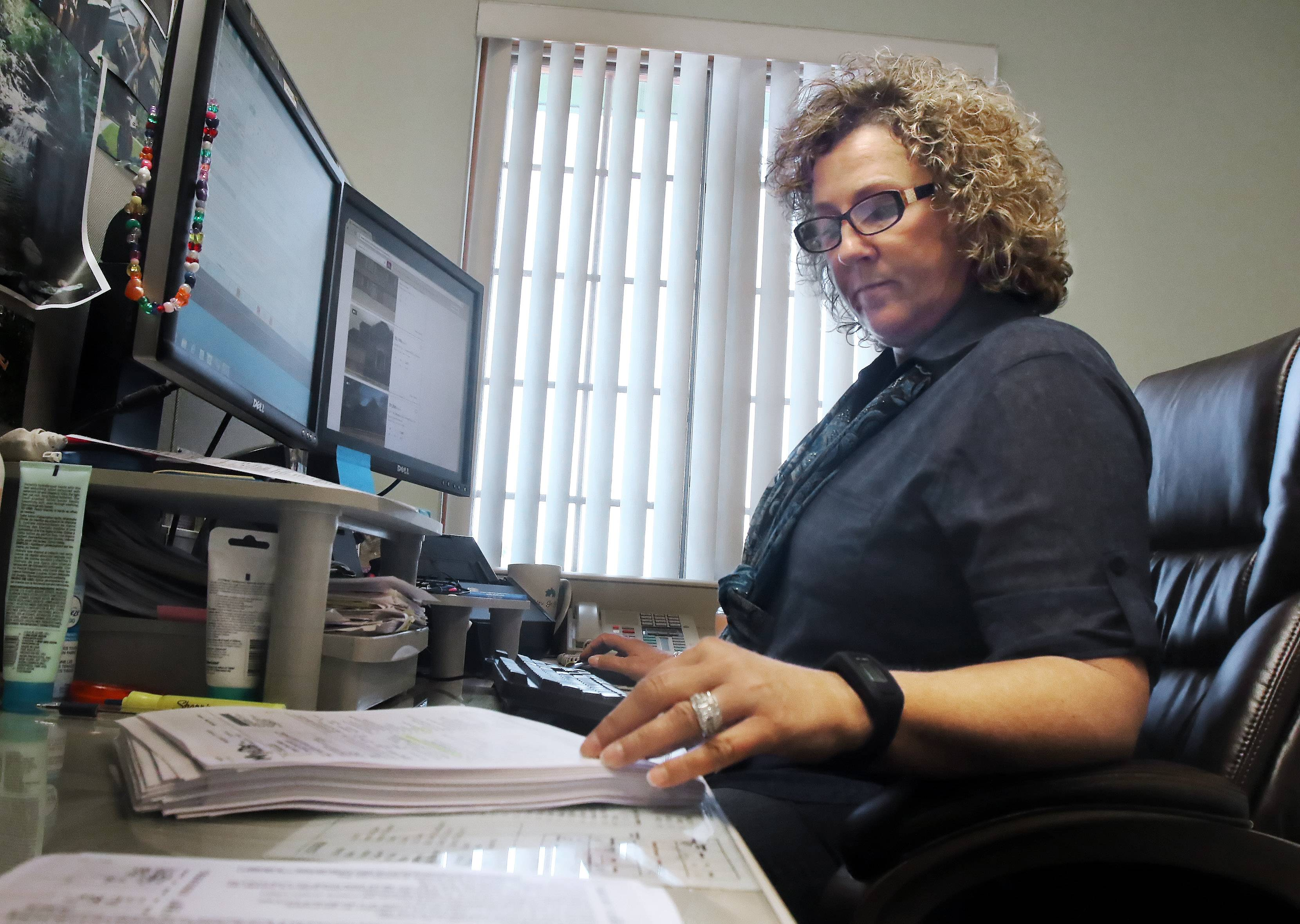 Grant Township Deputy Assessor Angela Wold uses a variety of resources like home sales data, real estate listings and utility billing to determine if someone is getting a property tax exemption they aren't entitled to receive.