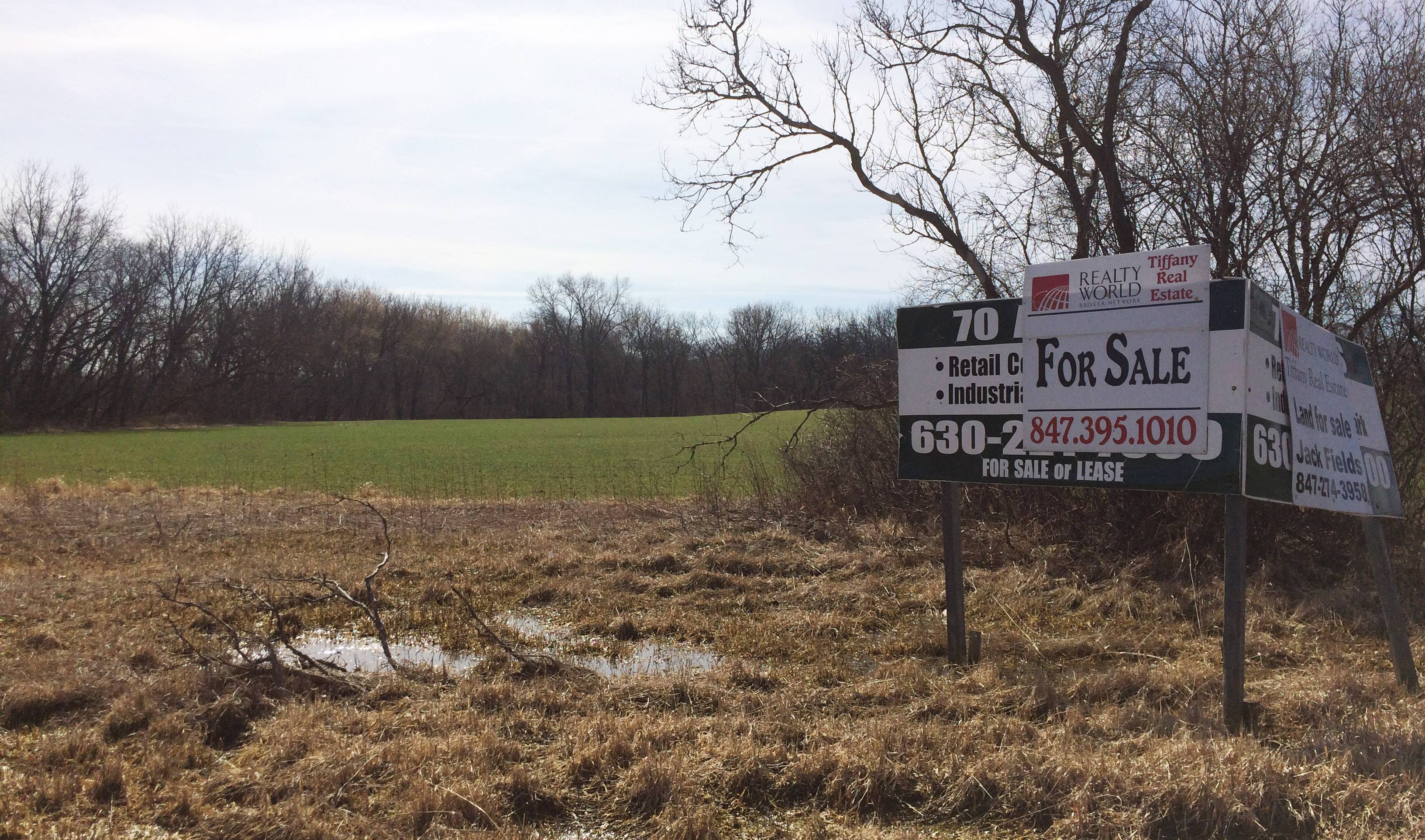 Antioch is proceeding with a study to determine whether they can create a tax increment financing district for 50 undeveloped acres the village bought two years ago near Route 173 and Grimm Road.