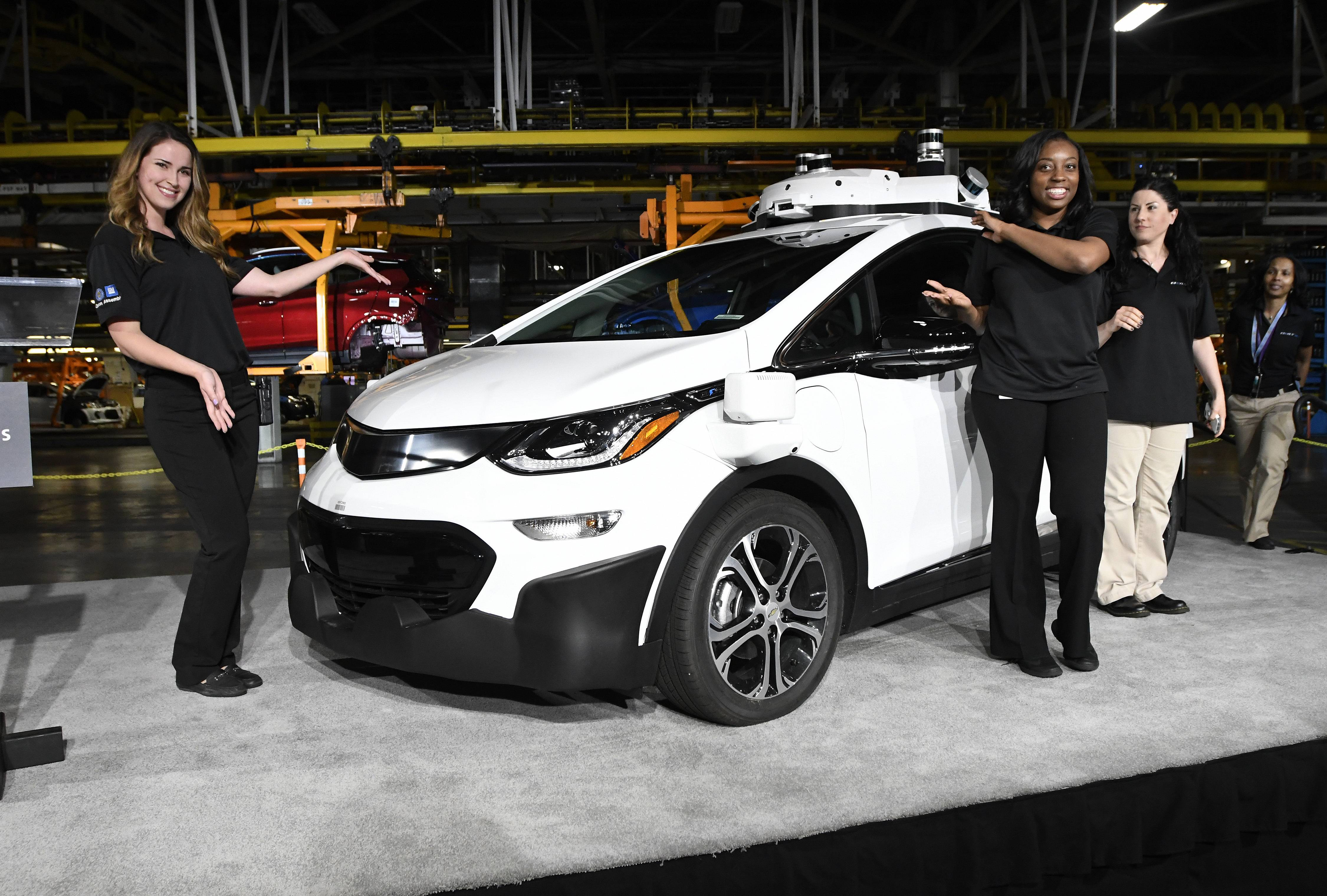 GM said Tuesday it was expanding its fleet of Bolt electric cars outfitted with self-driving gear to 180 vehicles from the 50 cars already being tested in San Francisco, metro Detroit and Scottsdale, Arizona.