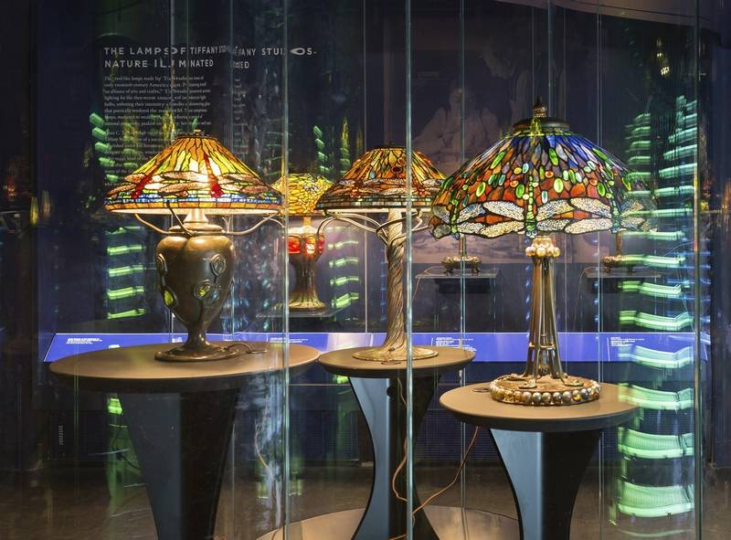 The Gallery Of Tiffany Lamps Designed By Renowned Czech Architect Eva Jiricn And Comprises