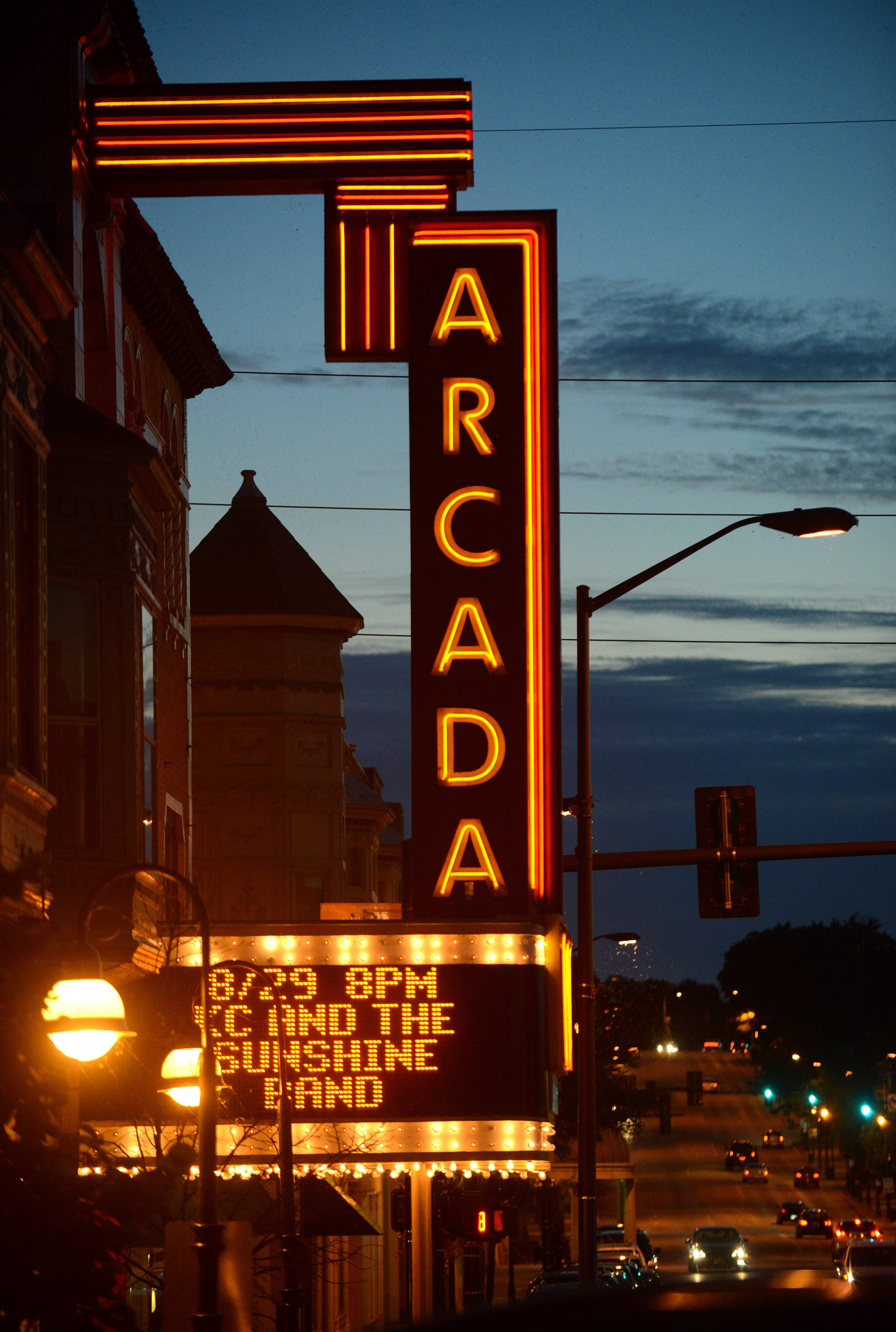The Arcada Theatre in St. Charles has shown success in booking a couple hundred shows at the downtown venue.